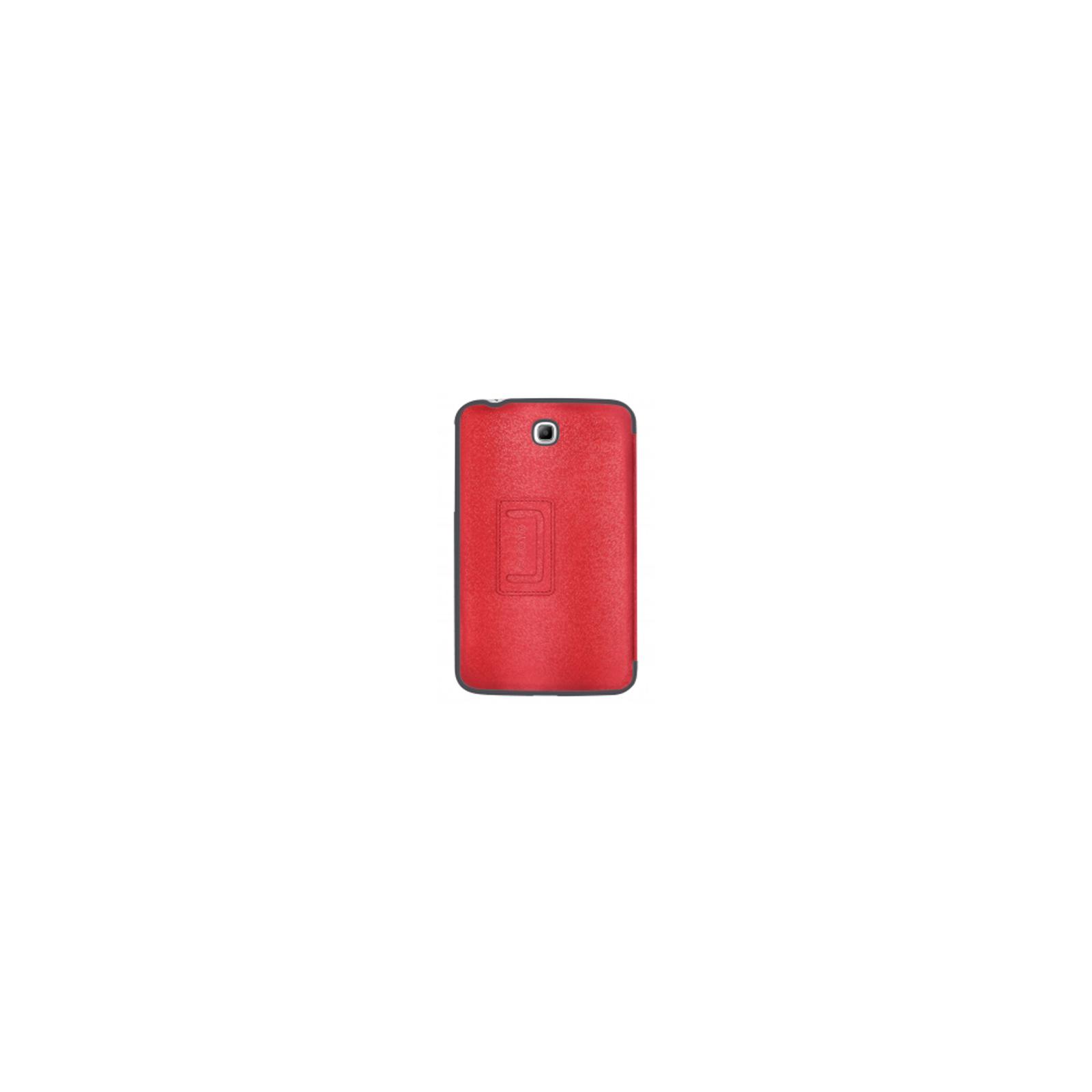 Чехол для планшета ODOYO Galaxy TabTAB3 7.0 /GLITZ COAT FOLIO BLAZING RED (PH621RD) изображение 2