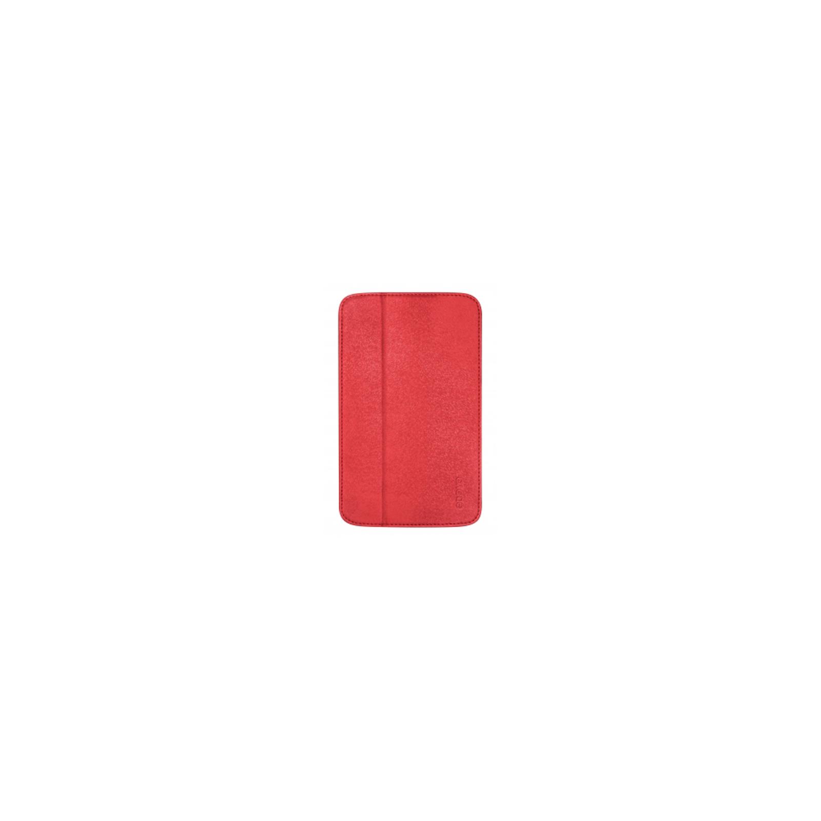 Чехол для планшета ODOYO Galaxy TabTAB3 7.0 /GLITZ COAT FOLIO BLAZING RED (PH621RD)