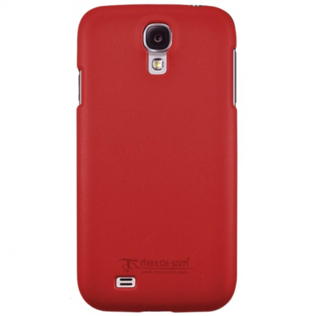 Чехол для моб. телефона Metal-Slim Samsung I9500 S4 /Rubber Red (C-K0016MR0004)