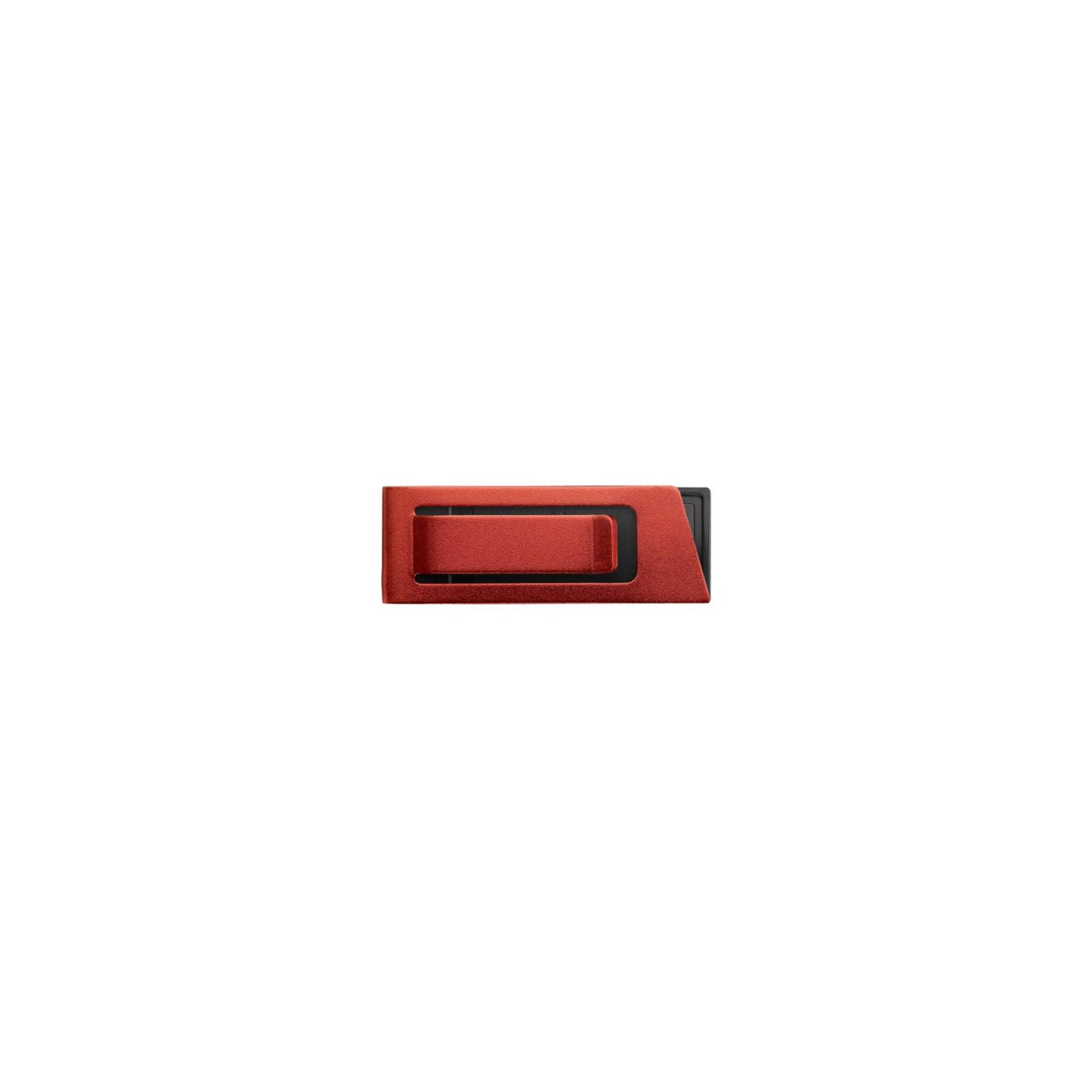 USB флеш накопитель 8GB AH130 Red RP USB2.0 Apacer (AP8GAH130R-1) изображение 2