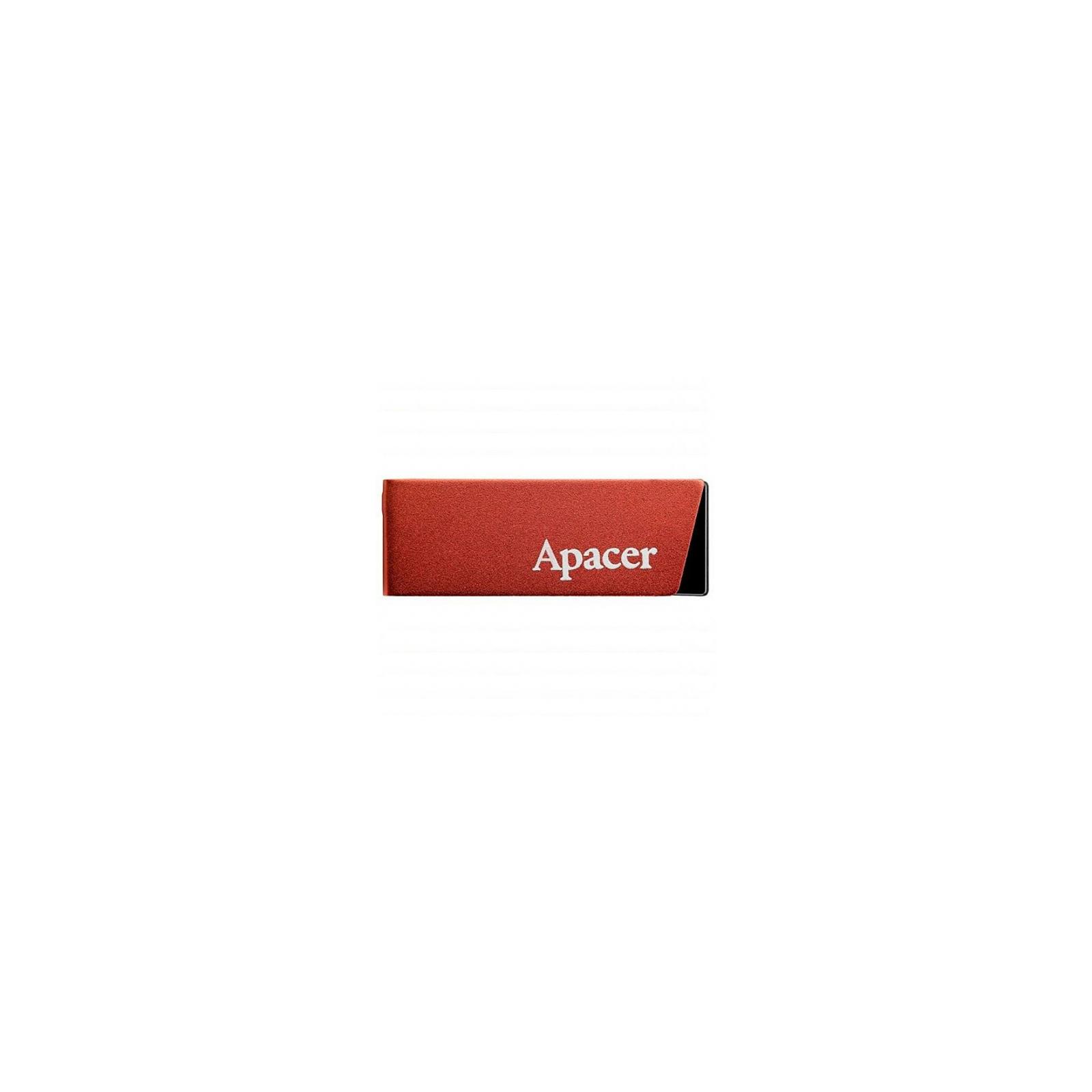 USB флеш накопитель 8GB AH130 Red RP USB2.0 Apacer (AP8GAH130R-1)