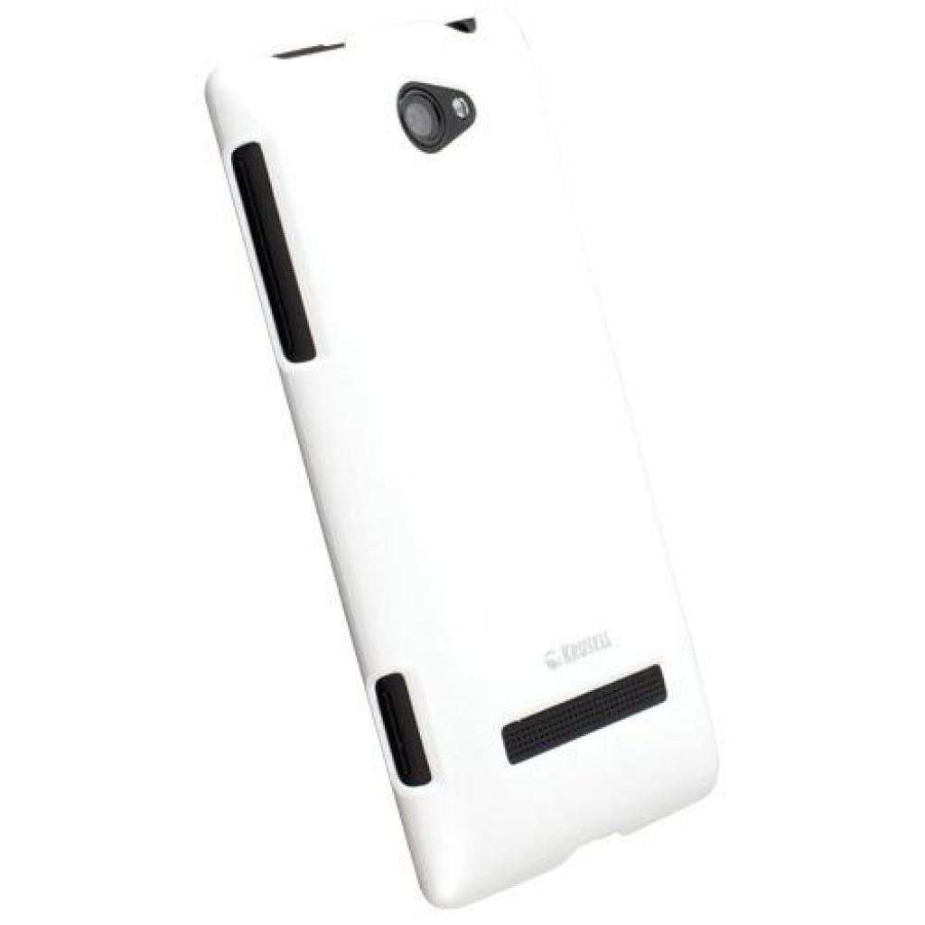 Чехол для моб. телефона Krusell для HTC 8S/ColorCover/ White (89809)
