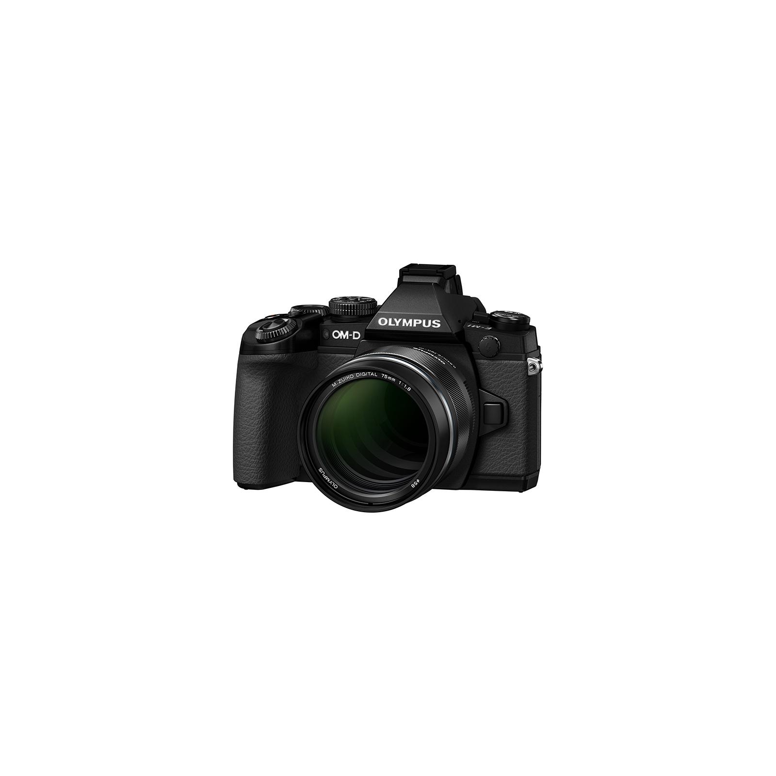 Объектив OLYMPUS ET-M7518 75mm 1:1.8 Black (V311040BE000) изображение 3