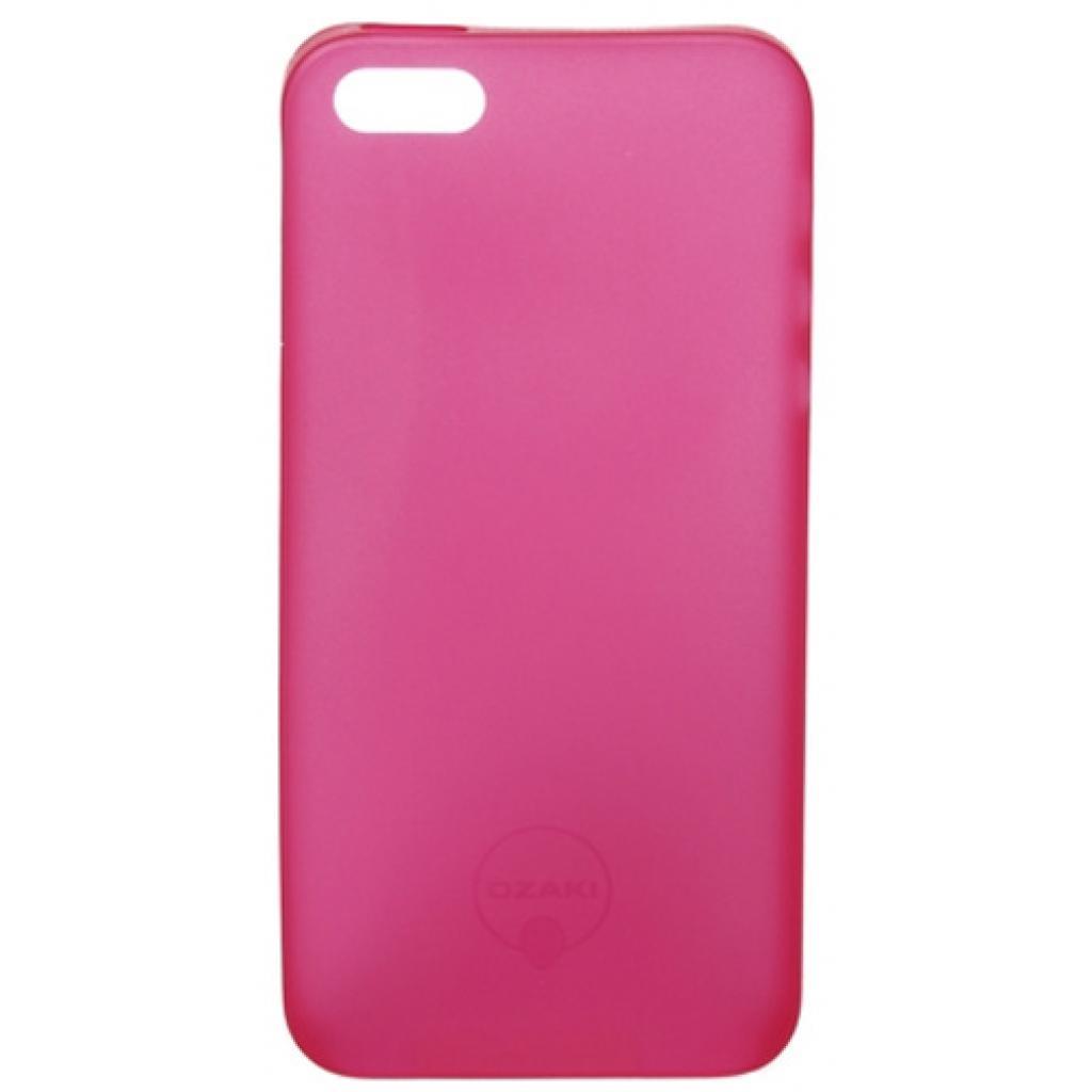 Чехол для моб. телефона OZAKI iPhone 5/5S O!coat 0.3 Jelly Red (OC533RD) изображение 2
