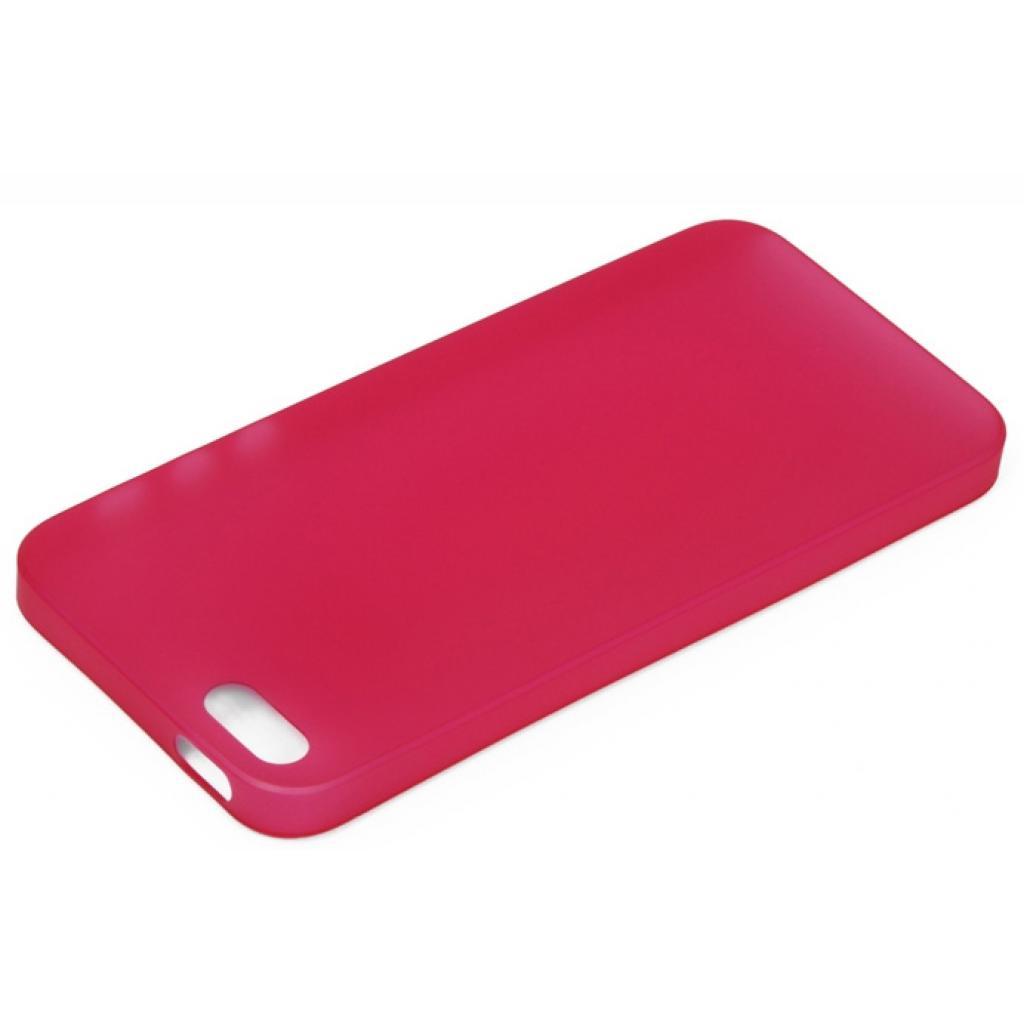 Чехол для моб. телефона OZAKI iPhone 5/5S O!coat 0.3 Jelly Red (OC533RD) изображение 3