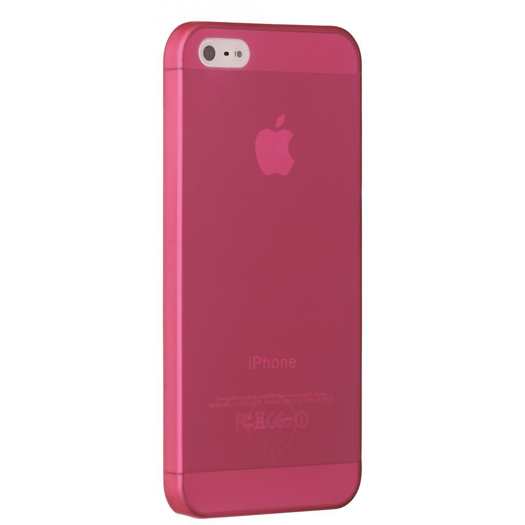 Чехол для моб. телефона OZAKI iPhone 5/5S O!coat 0.3 Jelly Red (OC533RD)