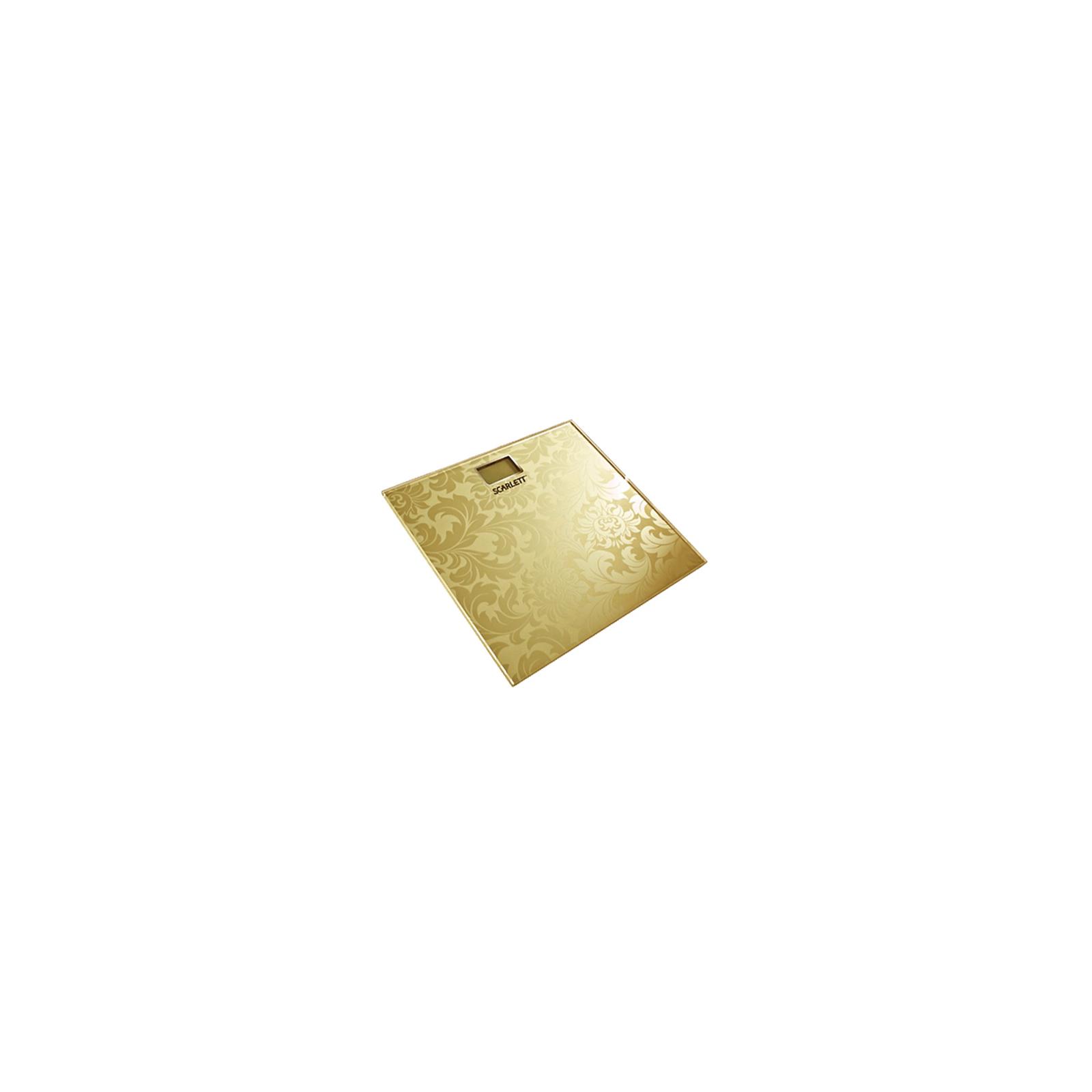 Весы напольные SCARLETT SC-217 gold