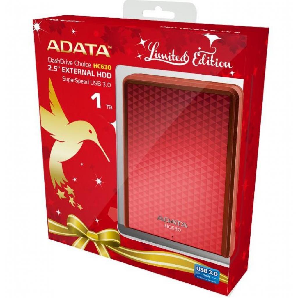 """Внешний жесткий диск 2.5"""" 1TB ADATA (AHC630-1TU3-CXRD) изображение 2"""