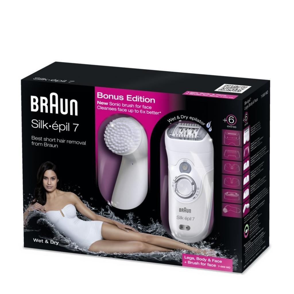 Эпилятор BRAUN SE 7569 (81439861) изображение 5