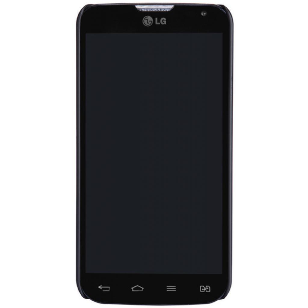 Чехол для моб. телефона NILLKIN для LG L90/D410 /Super Frosted Shield/Black (6147145) изображение 5