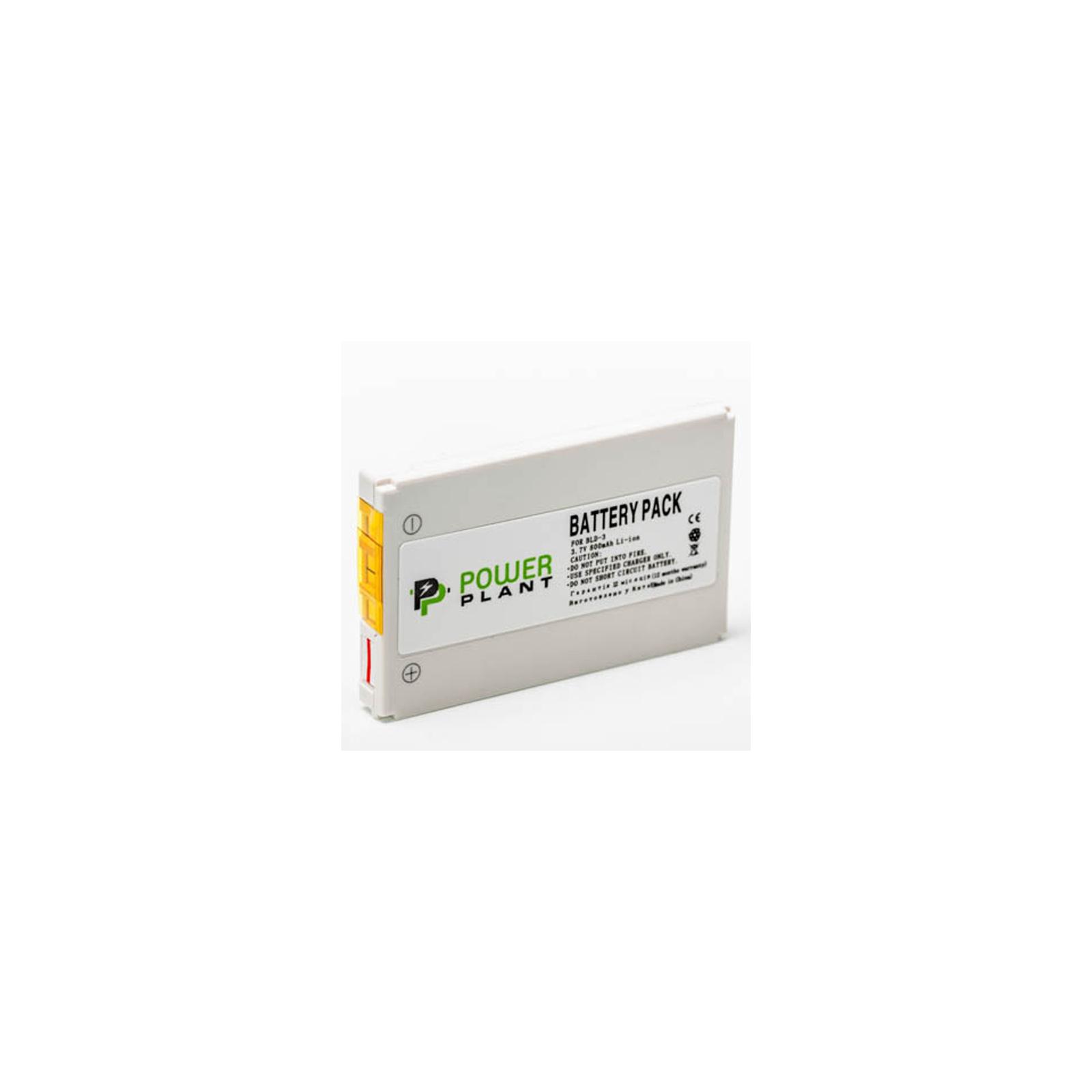 Аккумуляторная батарея PowerPlant Nokia BLD-3 (7210, 7250, 6610) (DV00DV1125) изображение 2