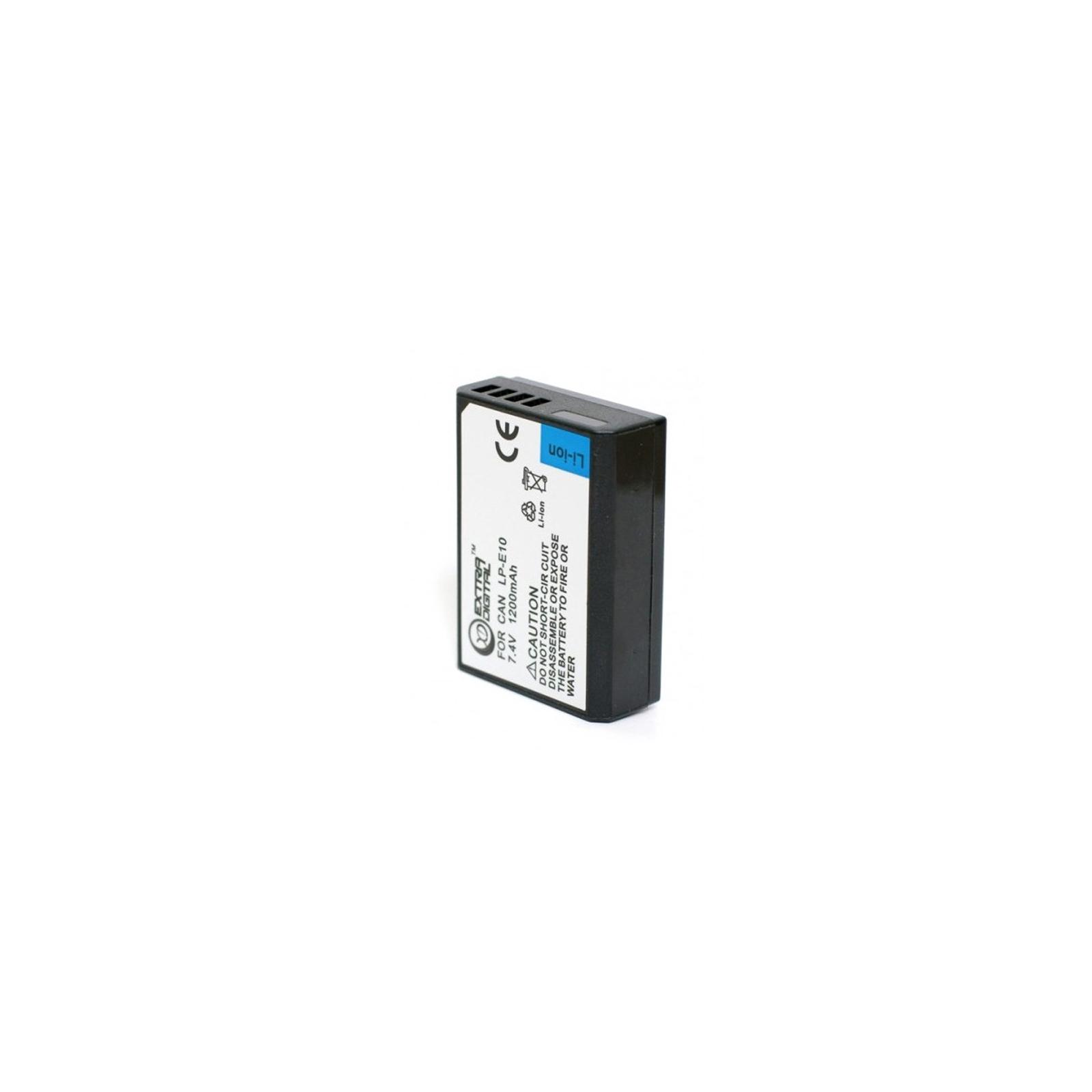 Аккумулятор к фото/видео EXTRADIGITAL Canon LP-E10 (BDC2427) изображение 2