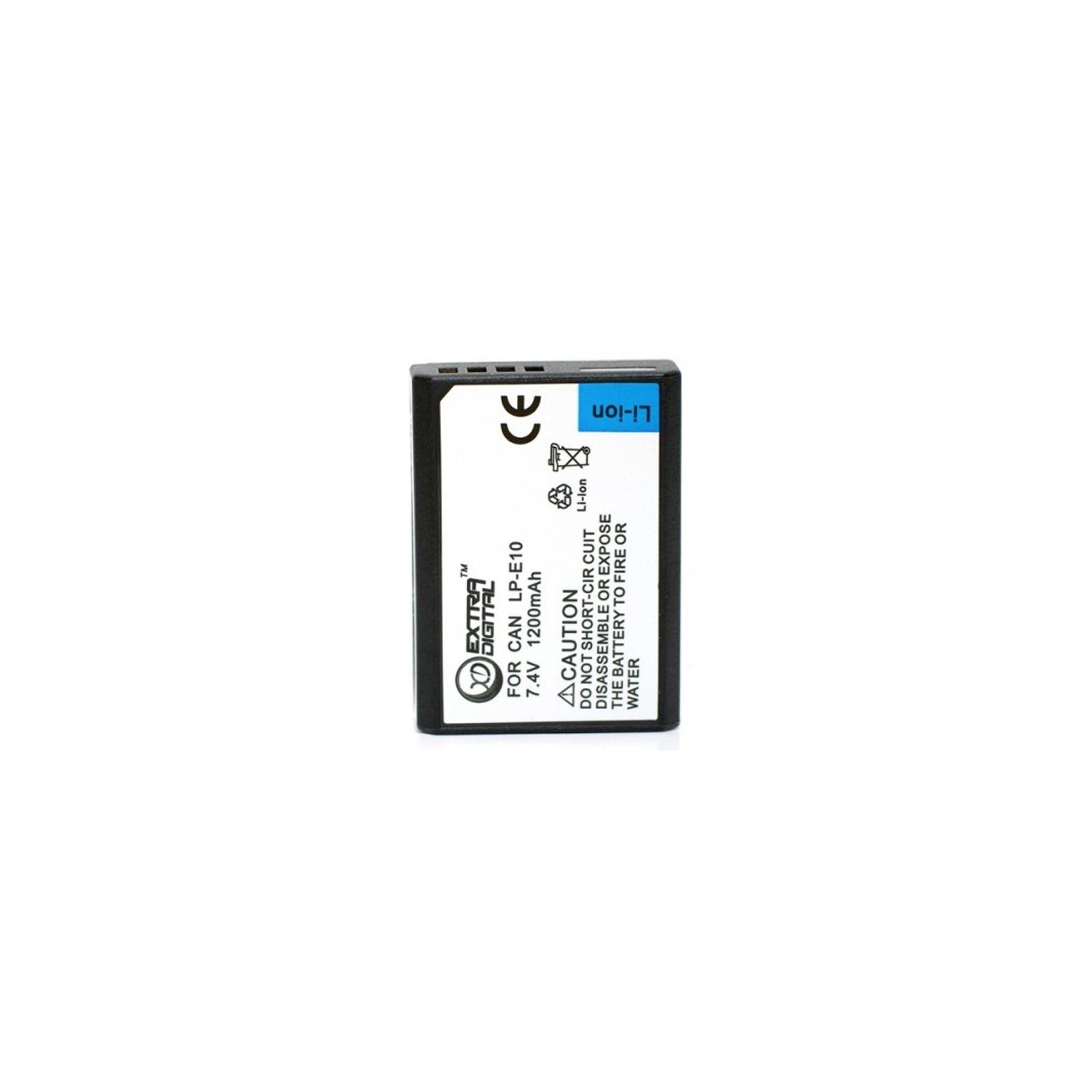 Аккумулятор к фото/видео EXTRADIGITAL Canon LP-E10 (BDC2427)