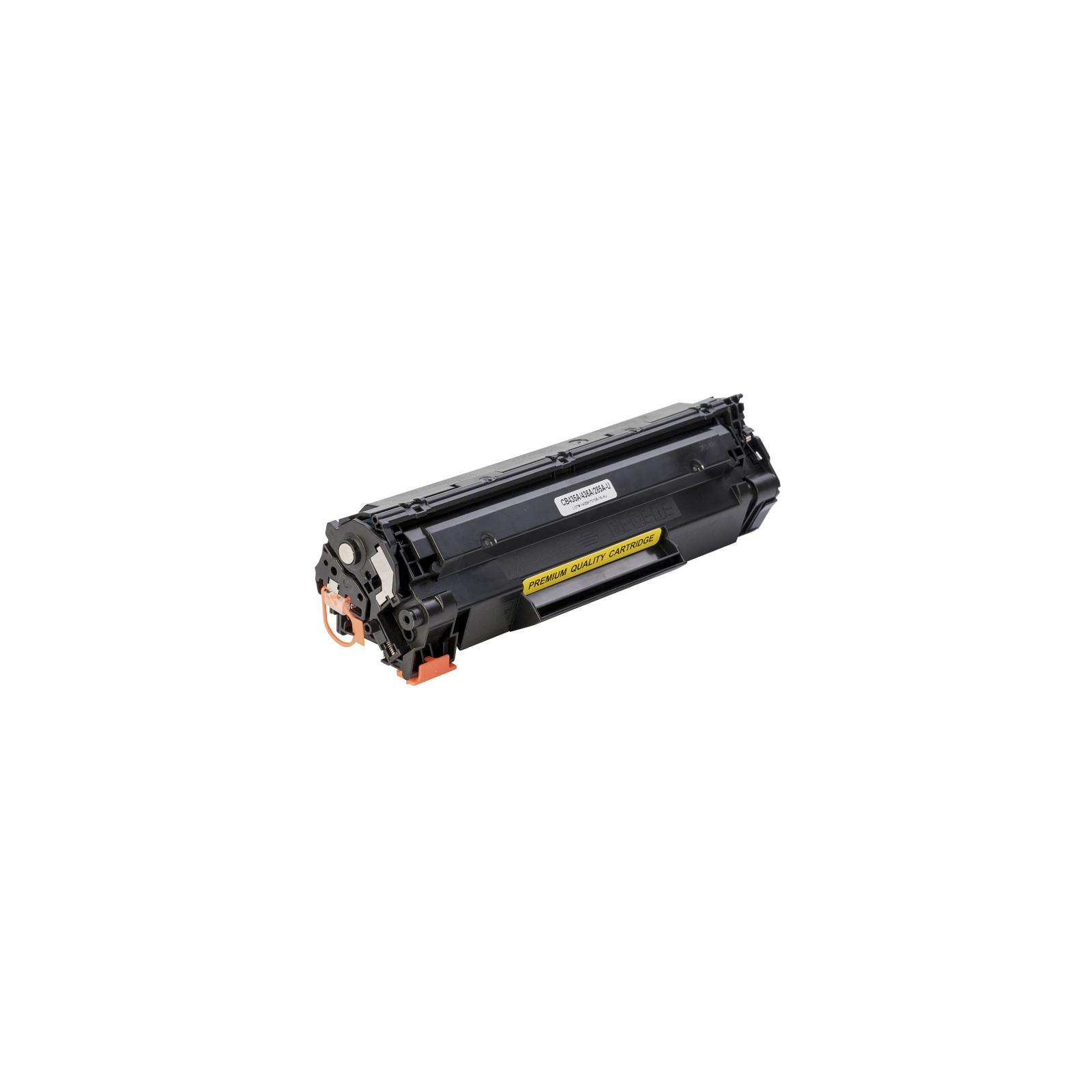 Картридж Makkon HP LJ CB435A/CB436A/CE285A 2k Black (MN-HP-SU435A) изображение 2