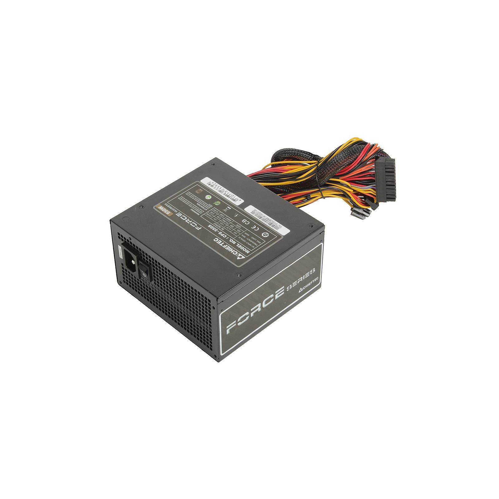 Блок питания CHIEFTEC 550W (CPS-550S) изображение 2
