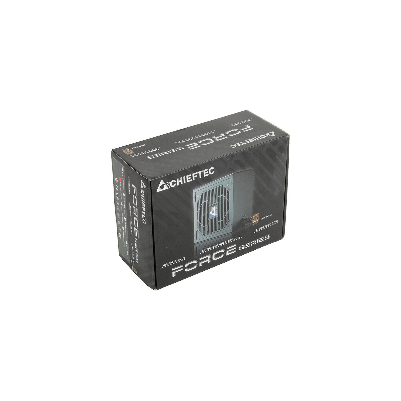 Блок питания CHIEFTEC 550W (CPS-550S) изображение 6