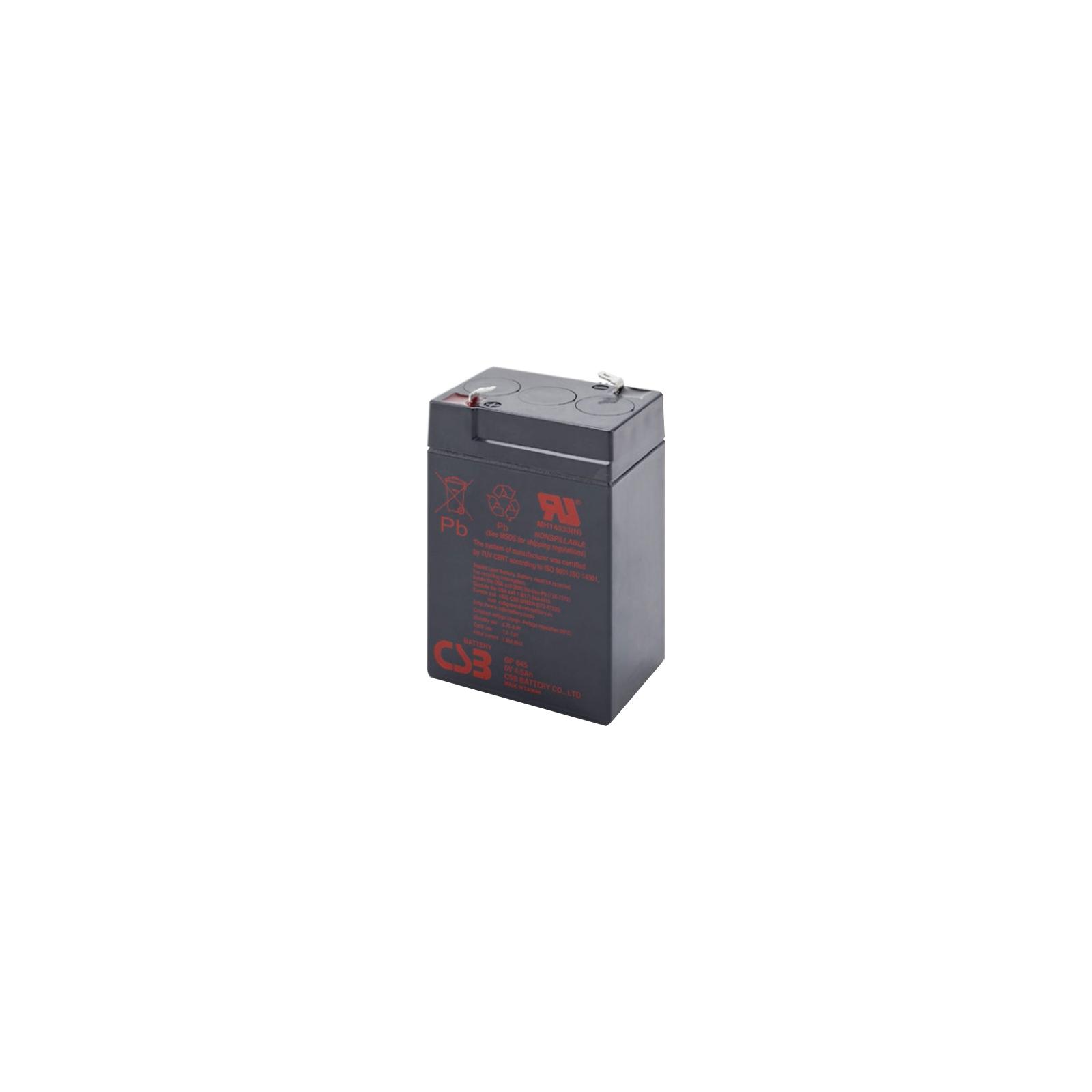 Батарея к ИБП CSB 6В 4.5 Ач (GP645)