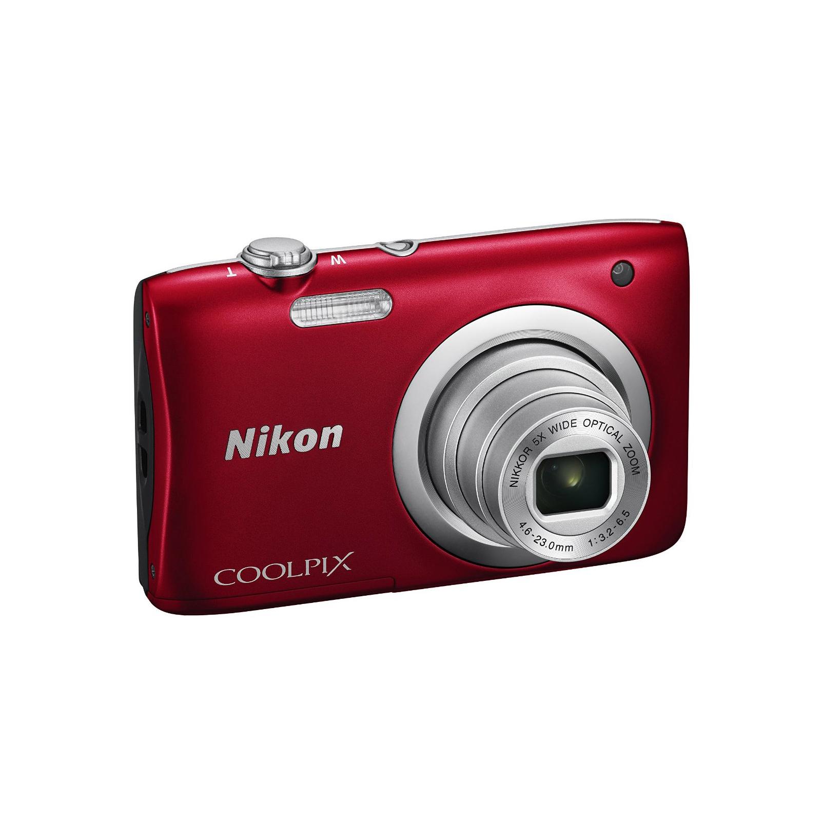 Цифровой фотоаппарат Nikon Coolpix A100 Red (VNA972E1) изображение 5