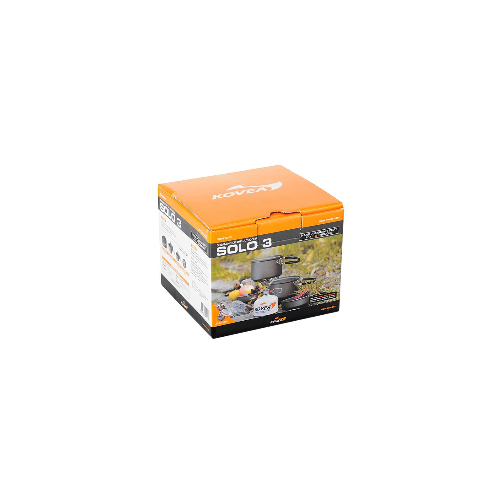 Набор туристической посуды Kovea Solo 3 KSK-SOLO3 (8806372095918) изображение 5