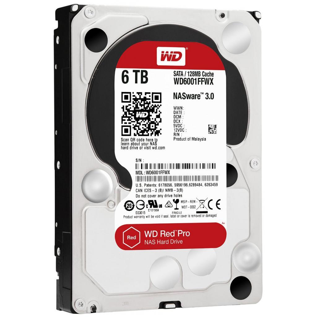"""Жесткий диск 3.5"""" 6TB Western Digital (WD6001FFWX) изображение 2"""