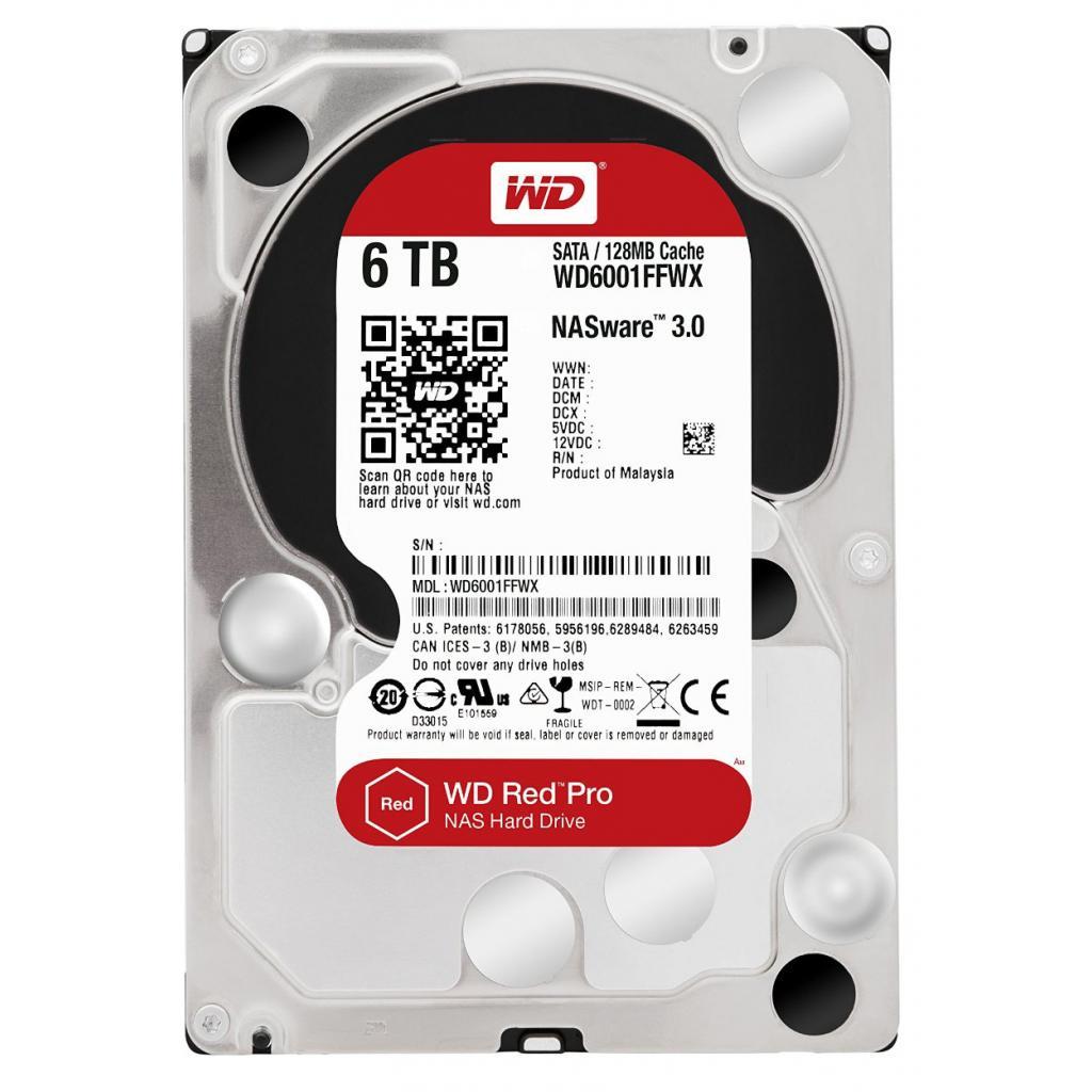 """Жесткий диск 3.5"""" 6TB Western Digital (WD6001FFWX)"""