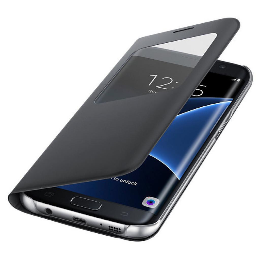 Чехол для моб. телефона Samsung Galaxy S7/Black/View Cover (EF-CG935PBEGRU) изображение 3