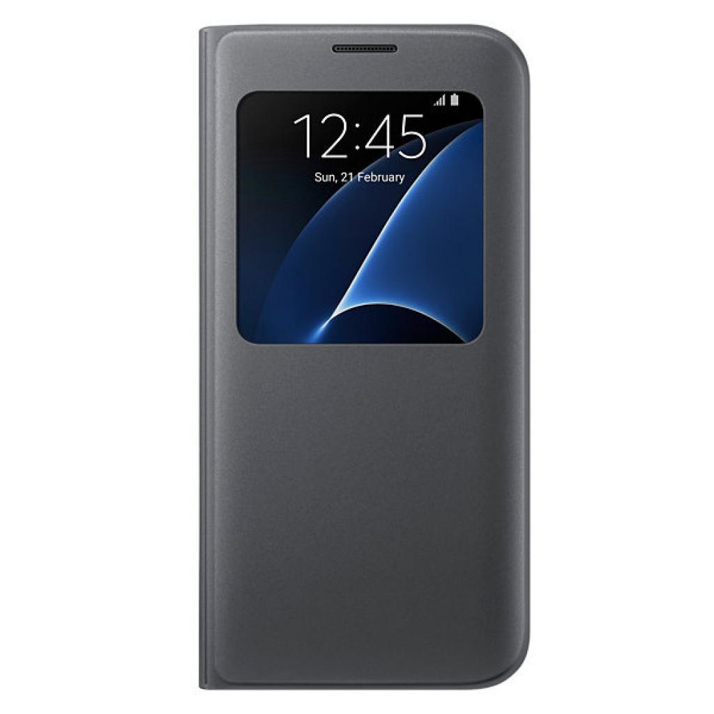 Чехол для моб. телефона Samsung Galaxy S7/Black/View Cover (EF-CG935PBEGRU)