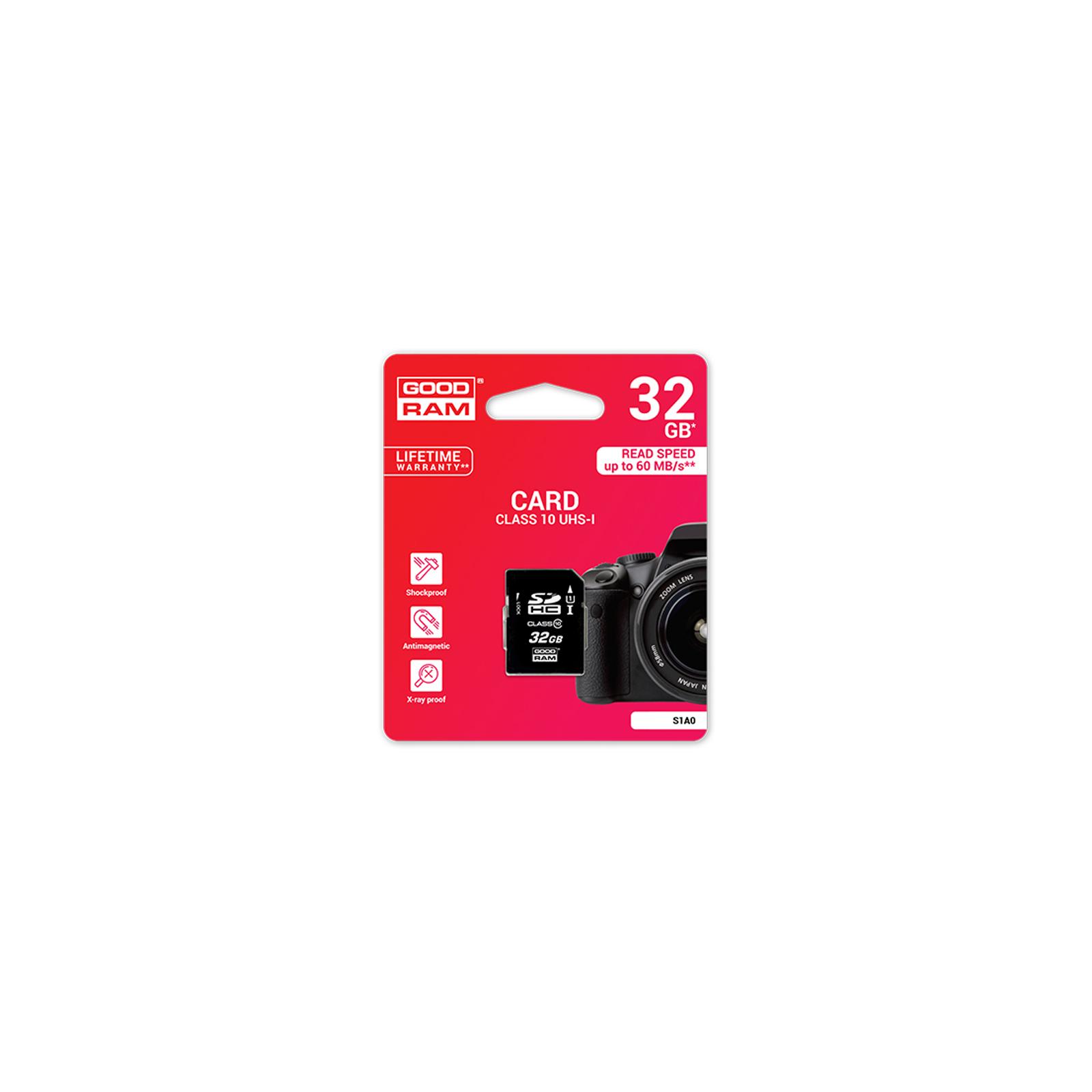 Карта памяти GOODRAM 32GB SDHC (S1A0-0320R11)