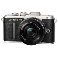 Цифровой фотоаппарат OLYMPUS E-PL8 14-42 mm Pancake Zoom Kit black/black (V205082BE000)