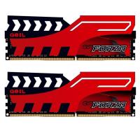 Модуль памяти для компьютера DDR4 8GB (2x4GB) 2400 MHz FORZA Red GEIL (GFR48GB2400C16DC)
