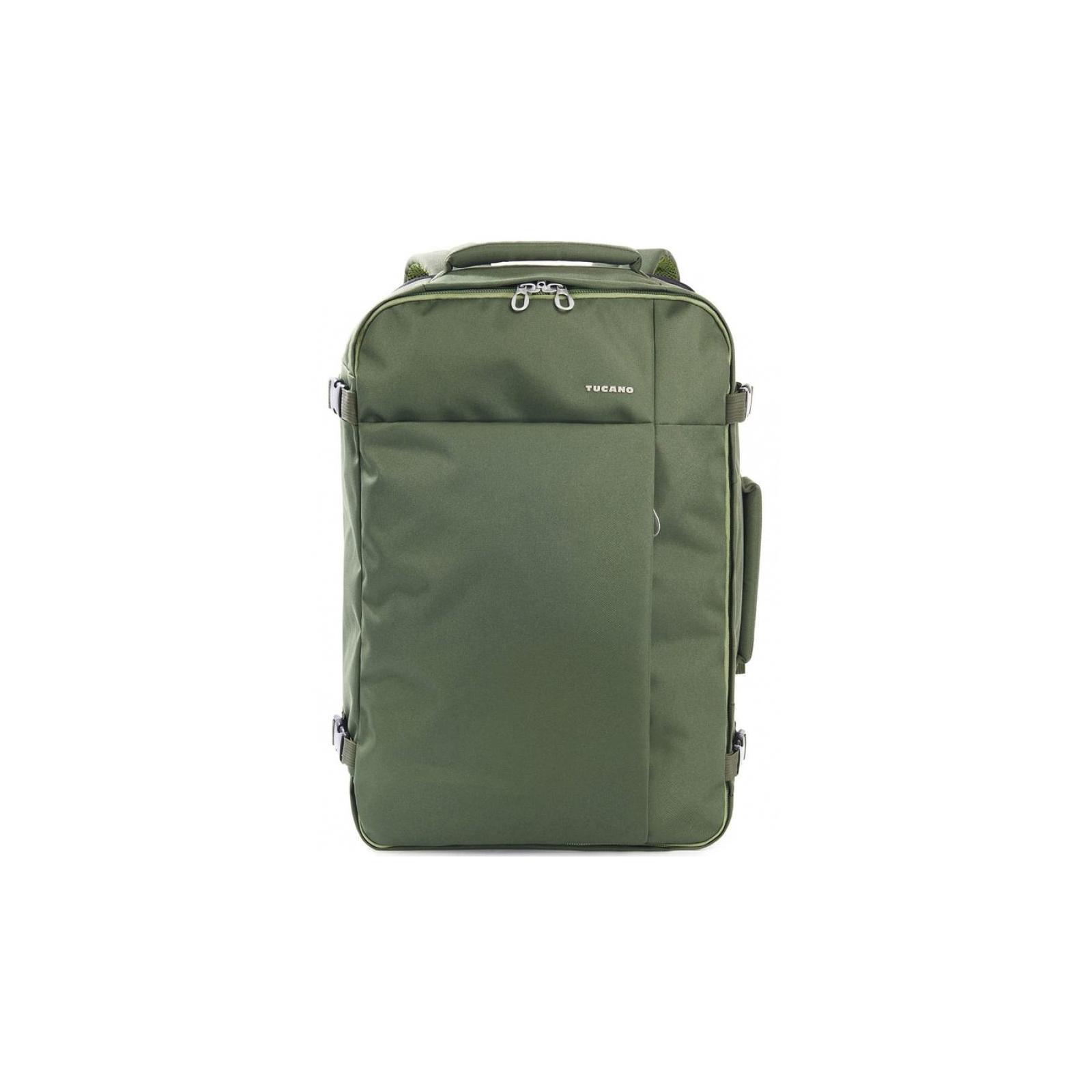 """Рюкзак для ноутбука Tucano 17.3"""" TUGO' L CABIN green (BKTUG-L-V) изображение 2"""