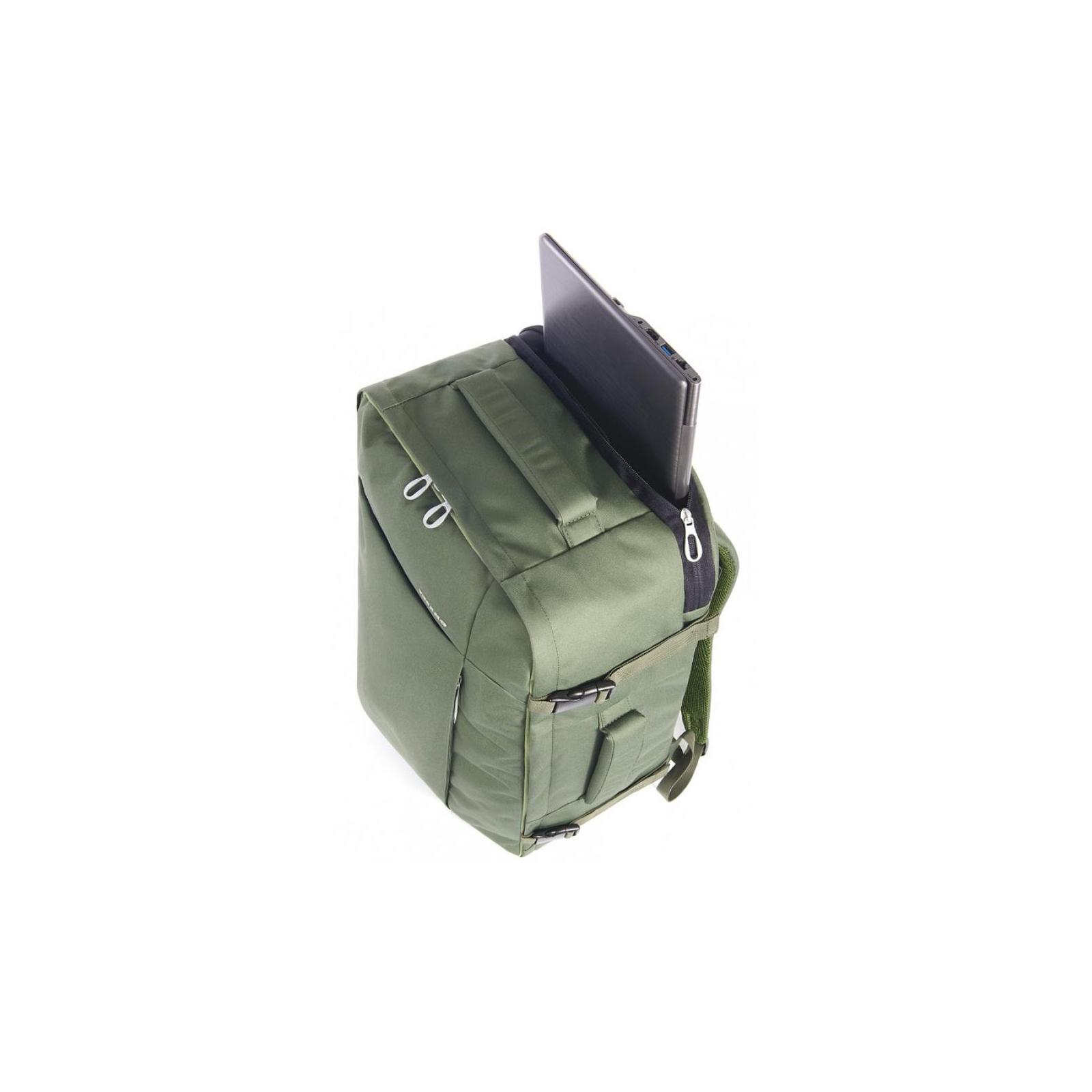 """Рюкзак для ноутбука Tucano 17.3"""" TUGO' L CABIN green (BKTUG-L-V) изображение 4"""