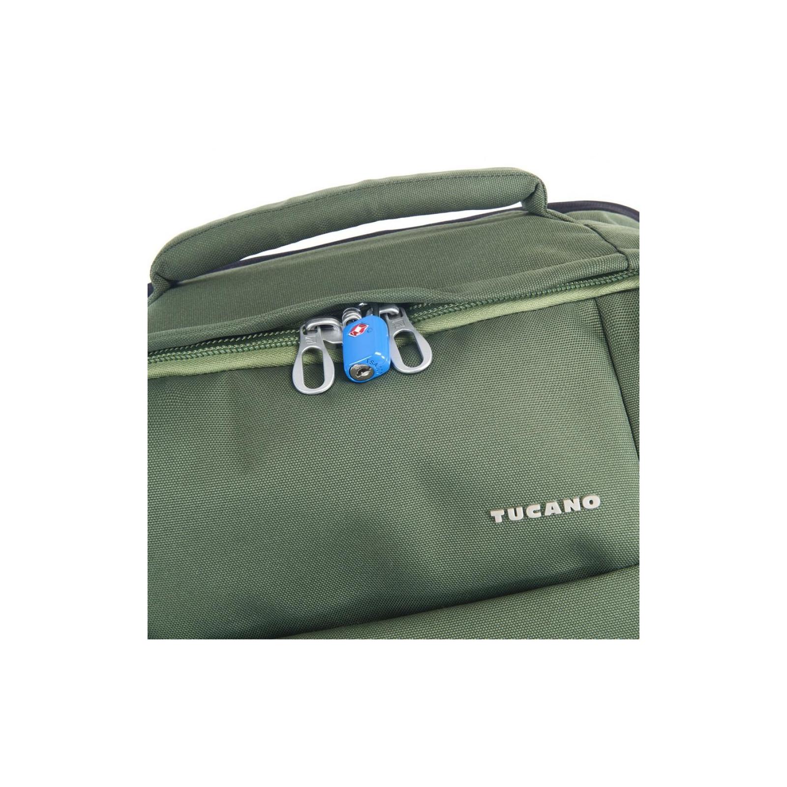 """Рюкзак для ноутбука Tucano 17.3"""" TUGO' L CABIN green (BKTUG-L-V) изображение 6"""