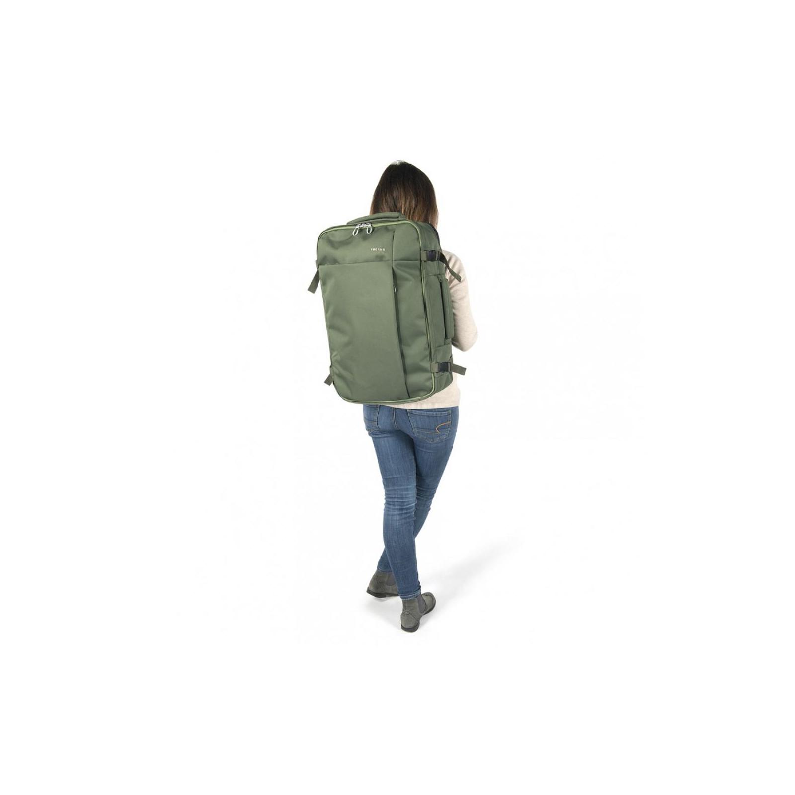 """Рюкзак для ноутбука Tucano 17.3"""" TUGO' L CABIN green (BKTUG-L-V) изображение 7"""