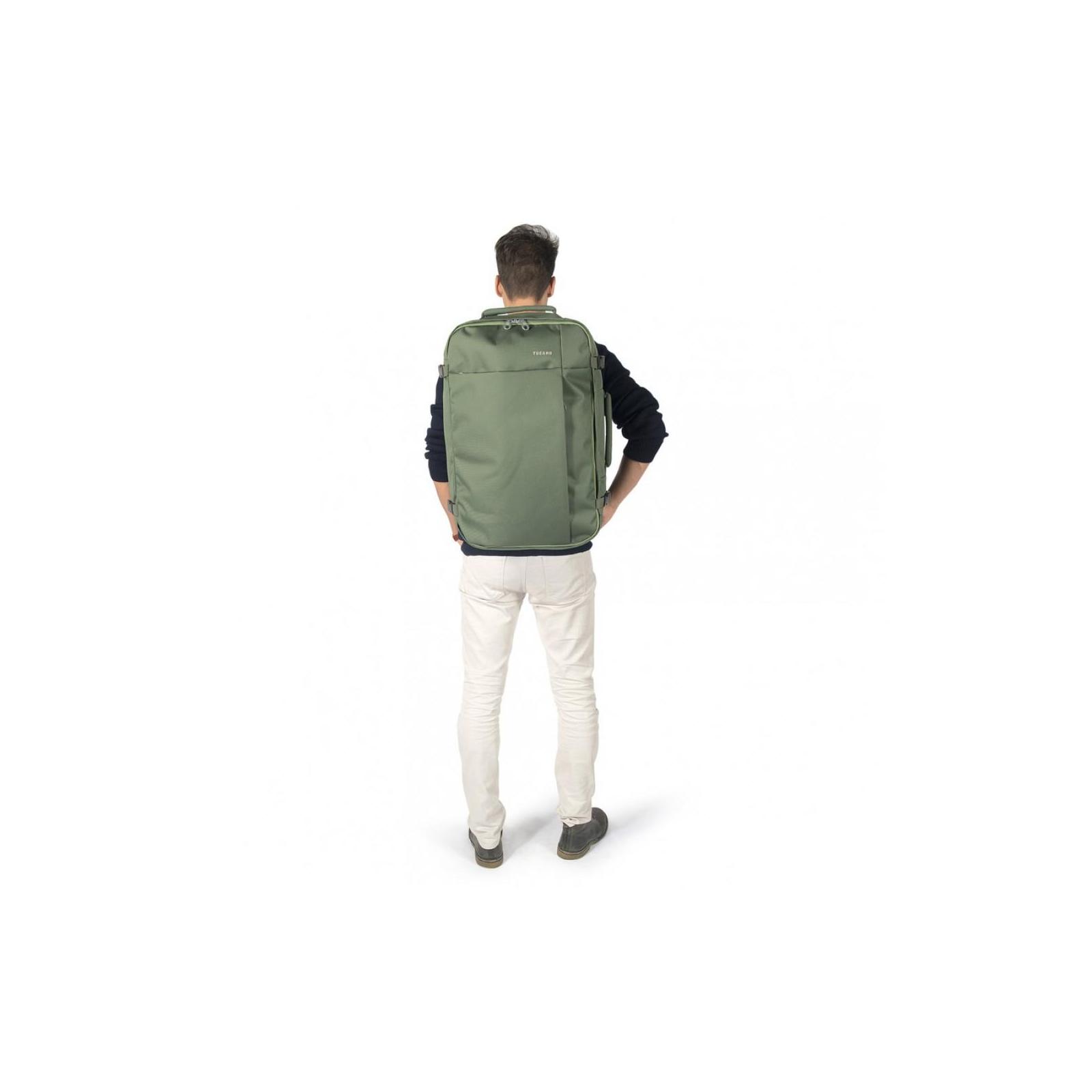 """Рюкзак для ноутбука Tucano 17.3"""" TUGO' L CABIN green (BKTUG-L-V) изображение 8"""