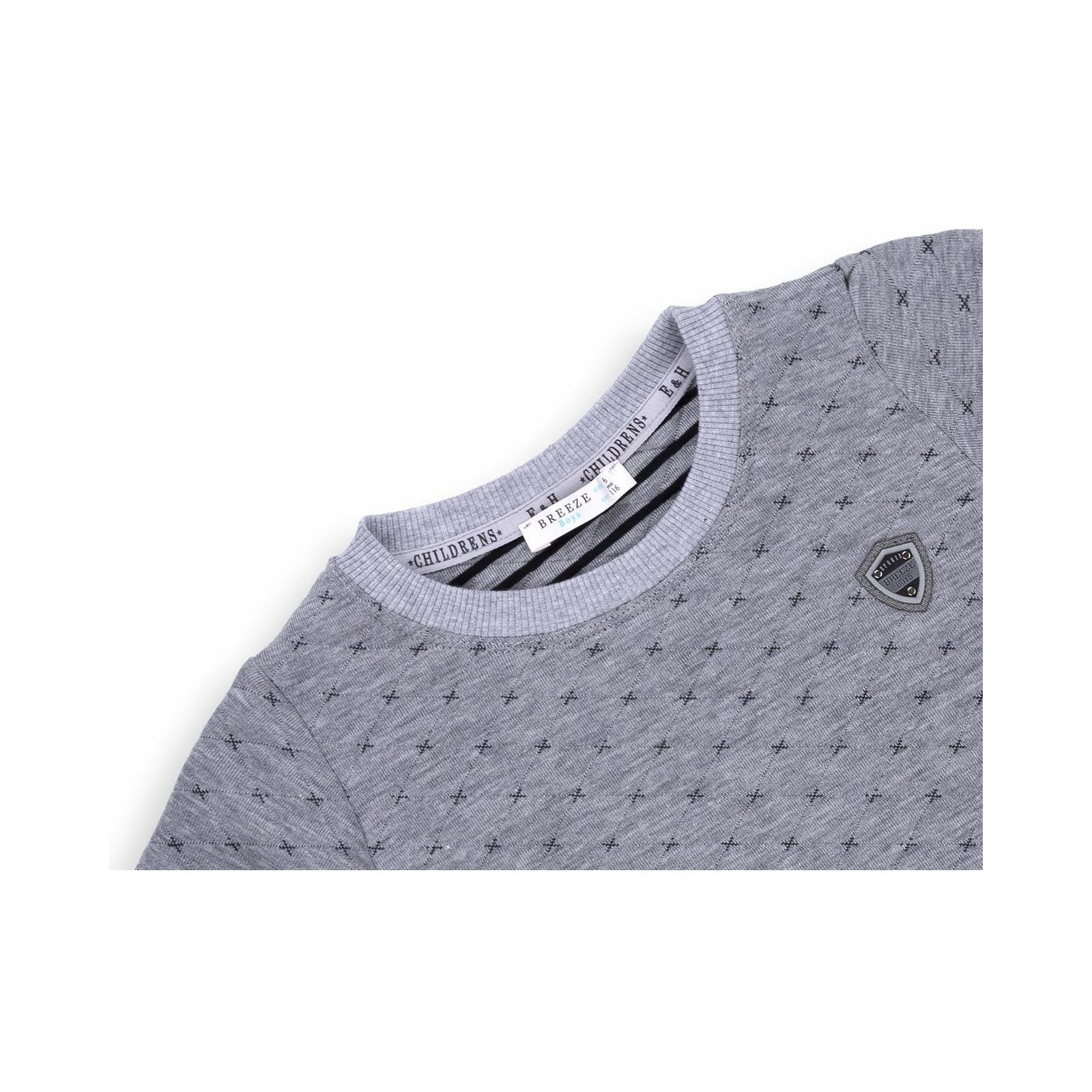 Кофта E&H трикотажная (11026-152B-gray) изображение 3