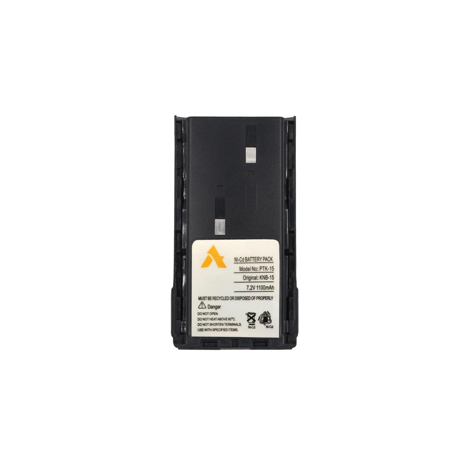 Аккумуляторная батарея для телефона Agent эквивалент акумулятора KNB-15 для Kenwood 1100mAh NiCd (PTK-15)