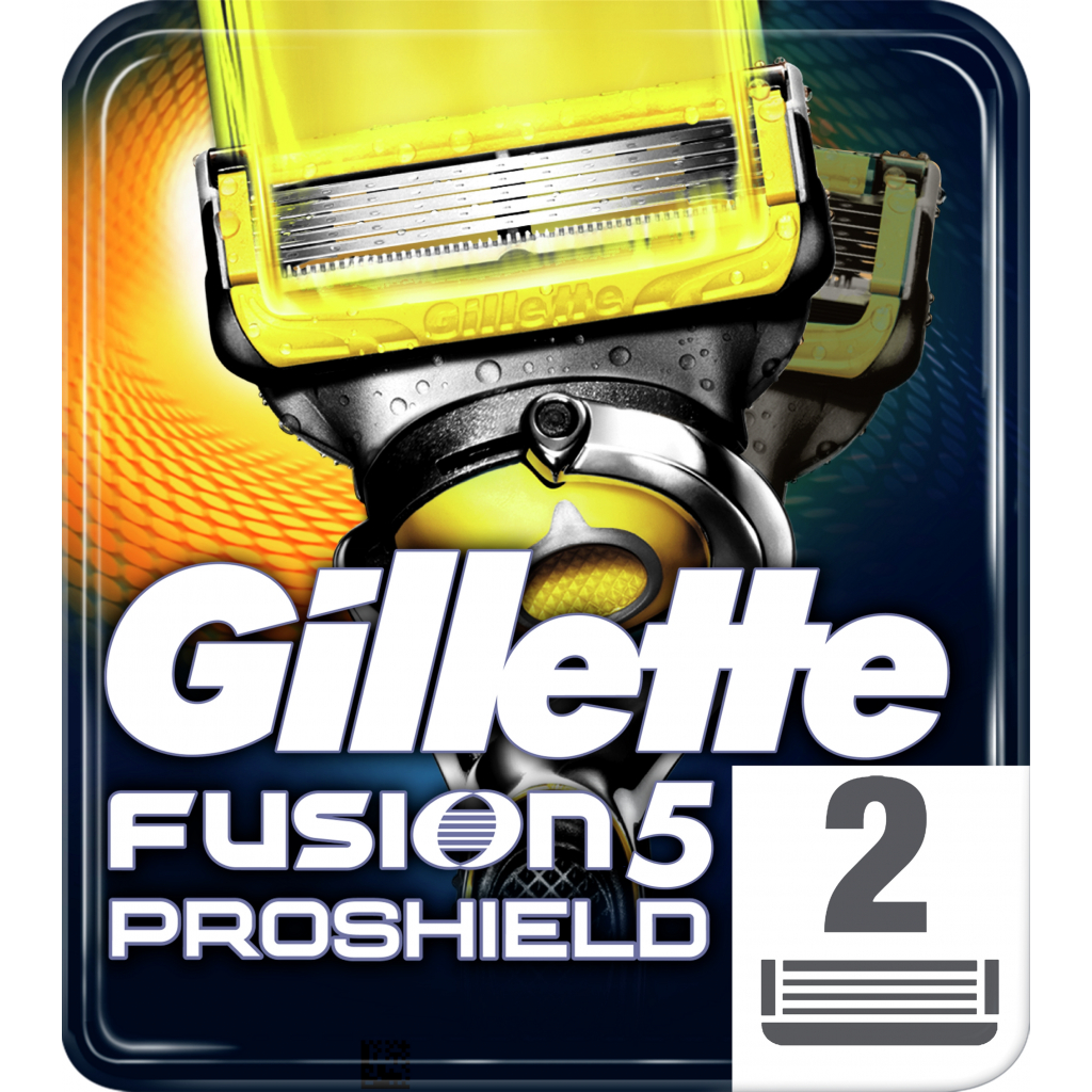 Сменные кассеты Gillette Fusion ProShield 2 шт (7702018412303)