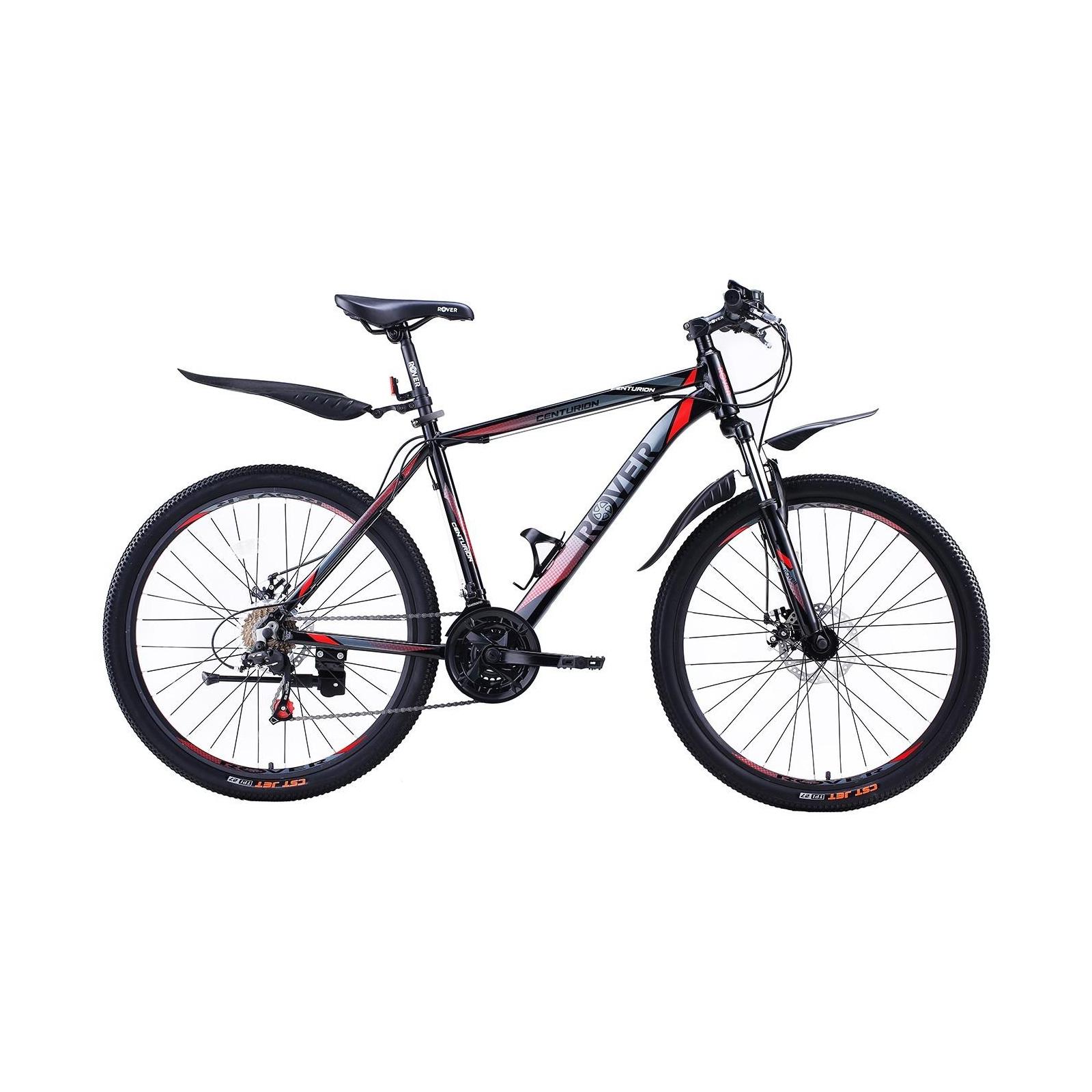 """Велосипед Rover Centurion 26"""" рама 19"""" Black/Grey Red 2018 (341316)"""