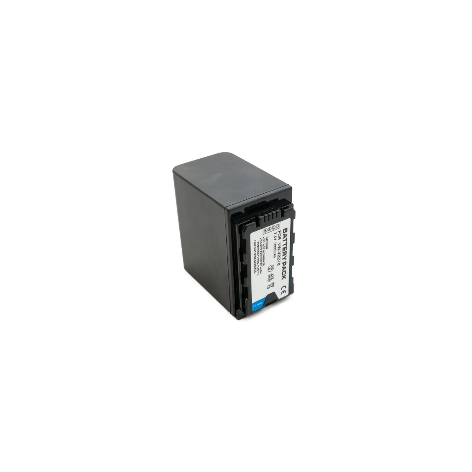Аккумулятор к фото/видео EXTRADIGITAL Panasonic VW-VBD78, Li-ion, 7.4V, 7800mAh (BDP2694) изображение 4