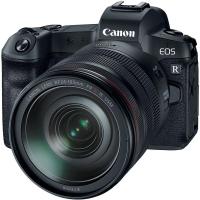 Цифровой фотоаппарат Canon EOS R RF 24-105L kit + адаптер EF-RF (3075C060)