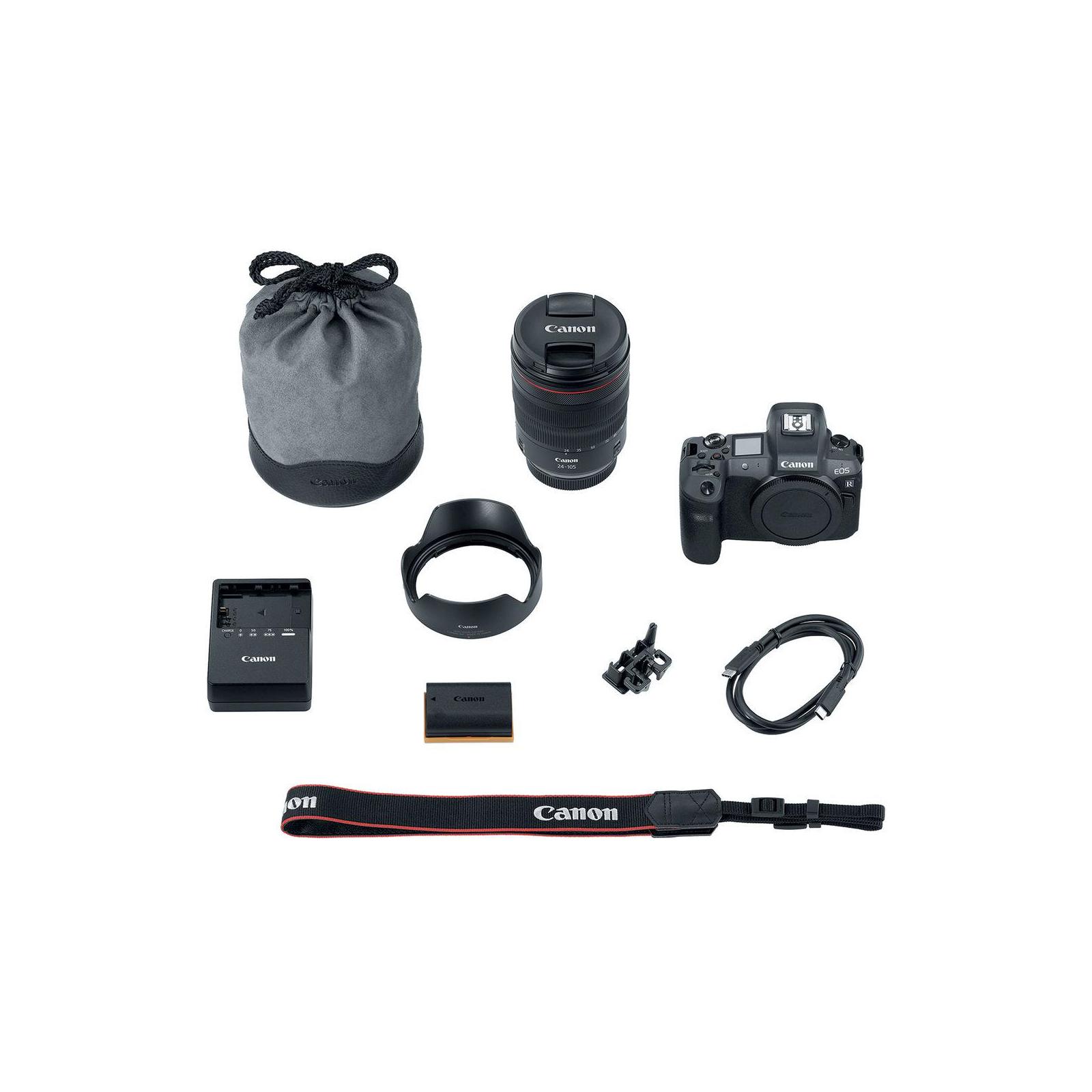 Цифровой фотоаппарат Canon EOS R RF 24-105L kit + адаптер EF-RF (3075C060) изображение 10