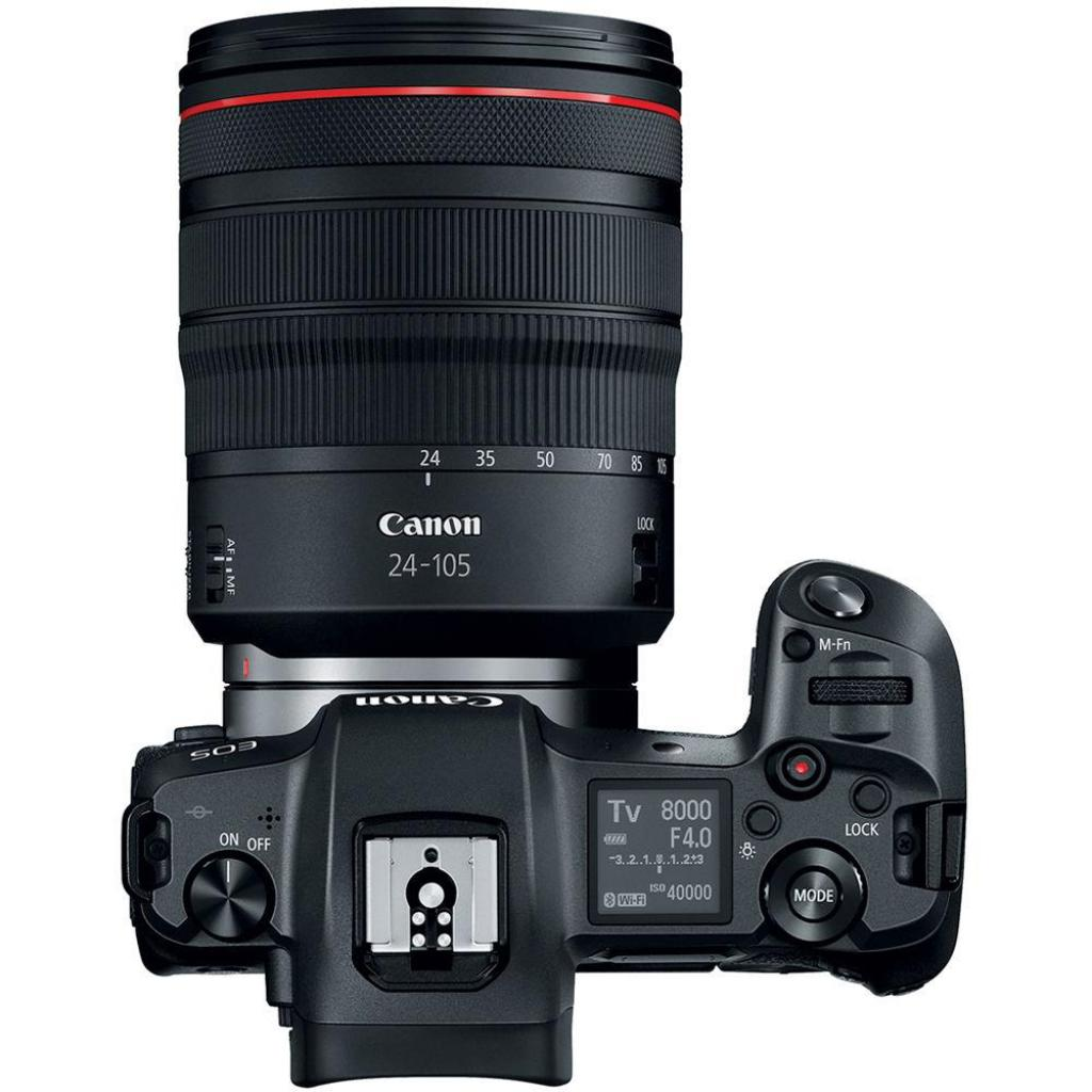 Цифровой фотоаппарат Canon EOS R RF 24-105L kit + адаптер EF-RF (3075C060) изображение 6