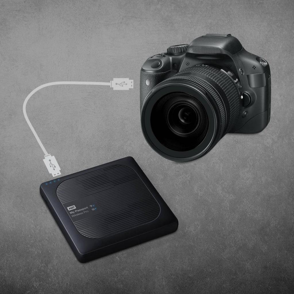 """Внешний жесткий диск 2.5"""" 4TB Western Digital (WDBSMT0040BBK-EESN) изображение 8"""