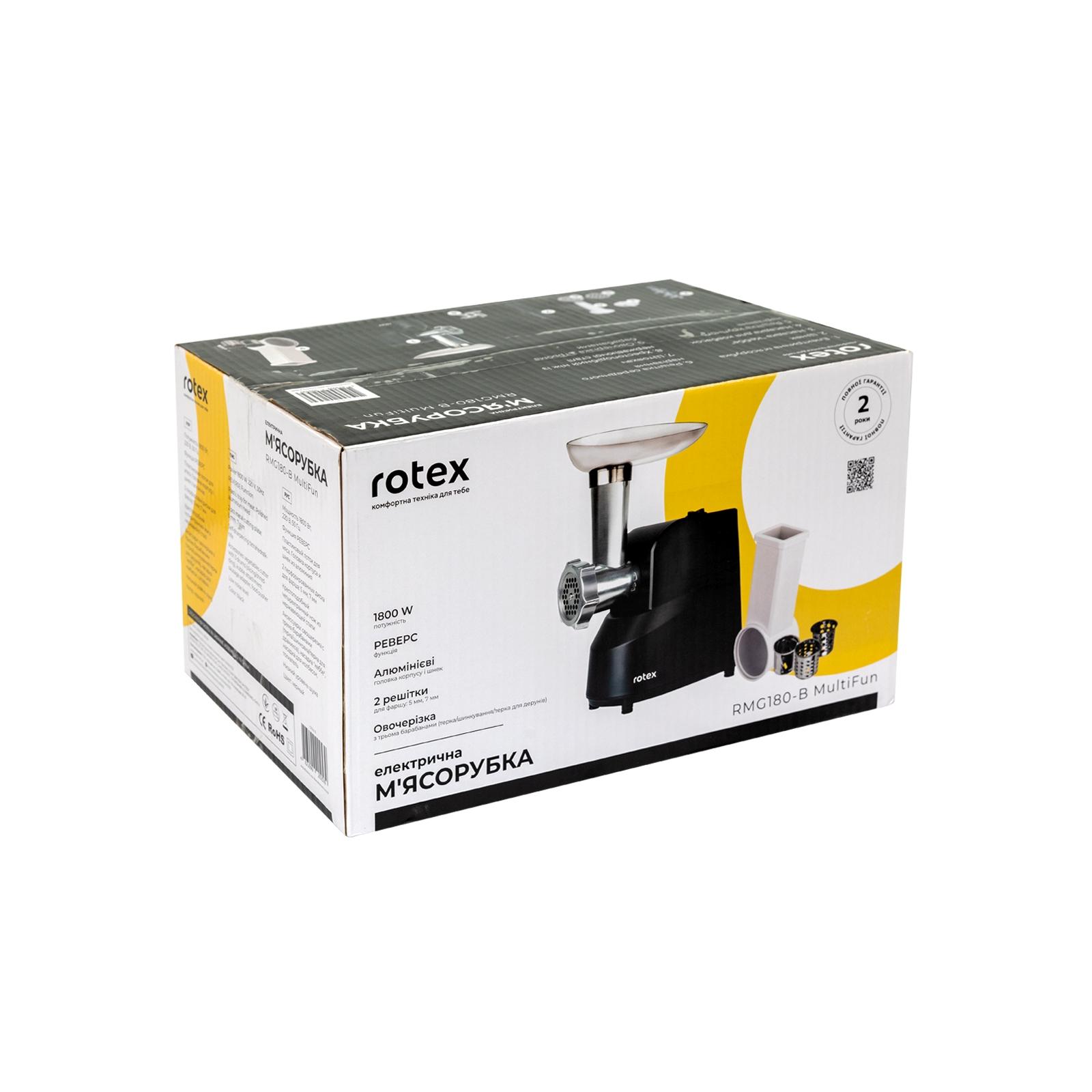 Мясорубка Rotex RMG180-B MultiFun изображение 11