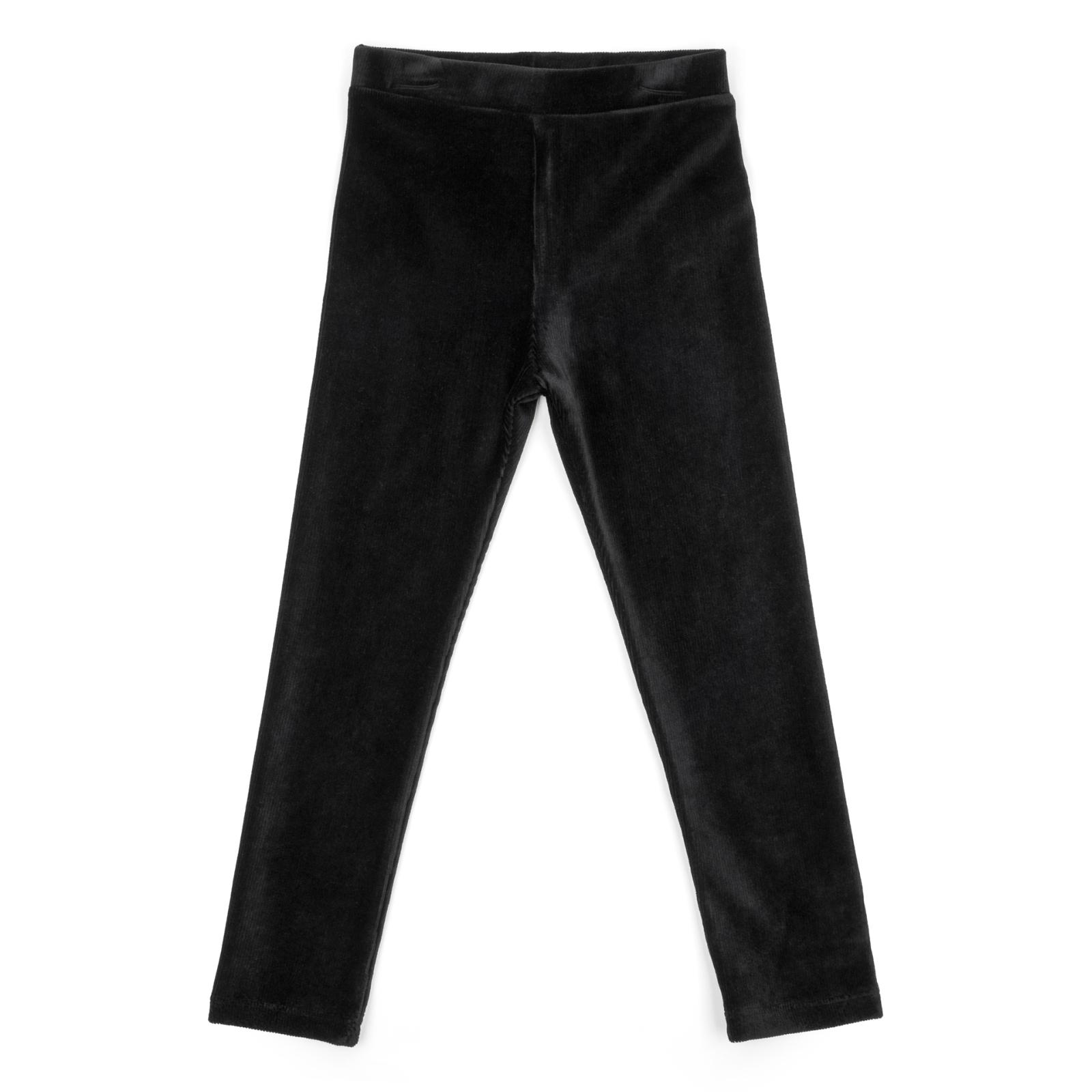 Лосины Breeze велюровые (5254-110G-black)