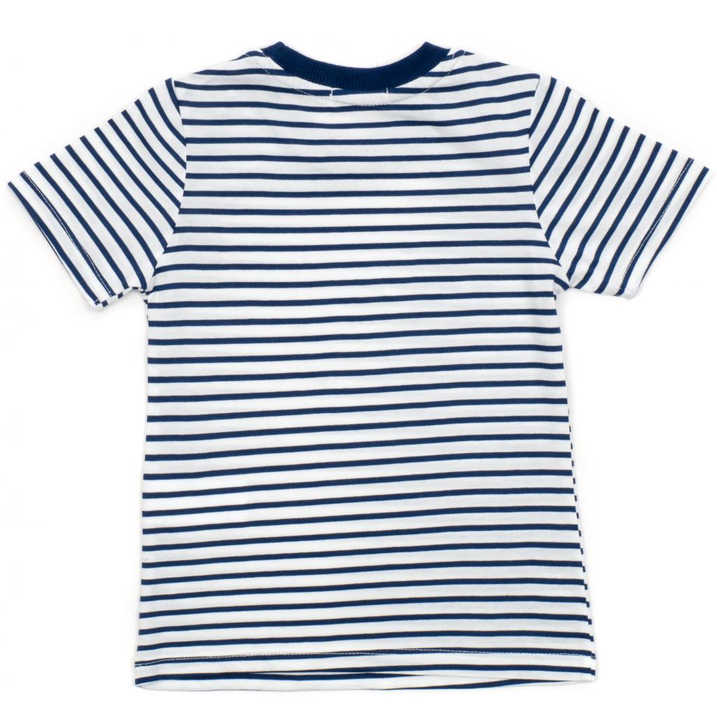 Набор детской одежды Breeze в полоску (15997-98B-blue) изображение 5