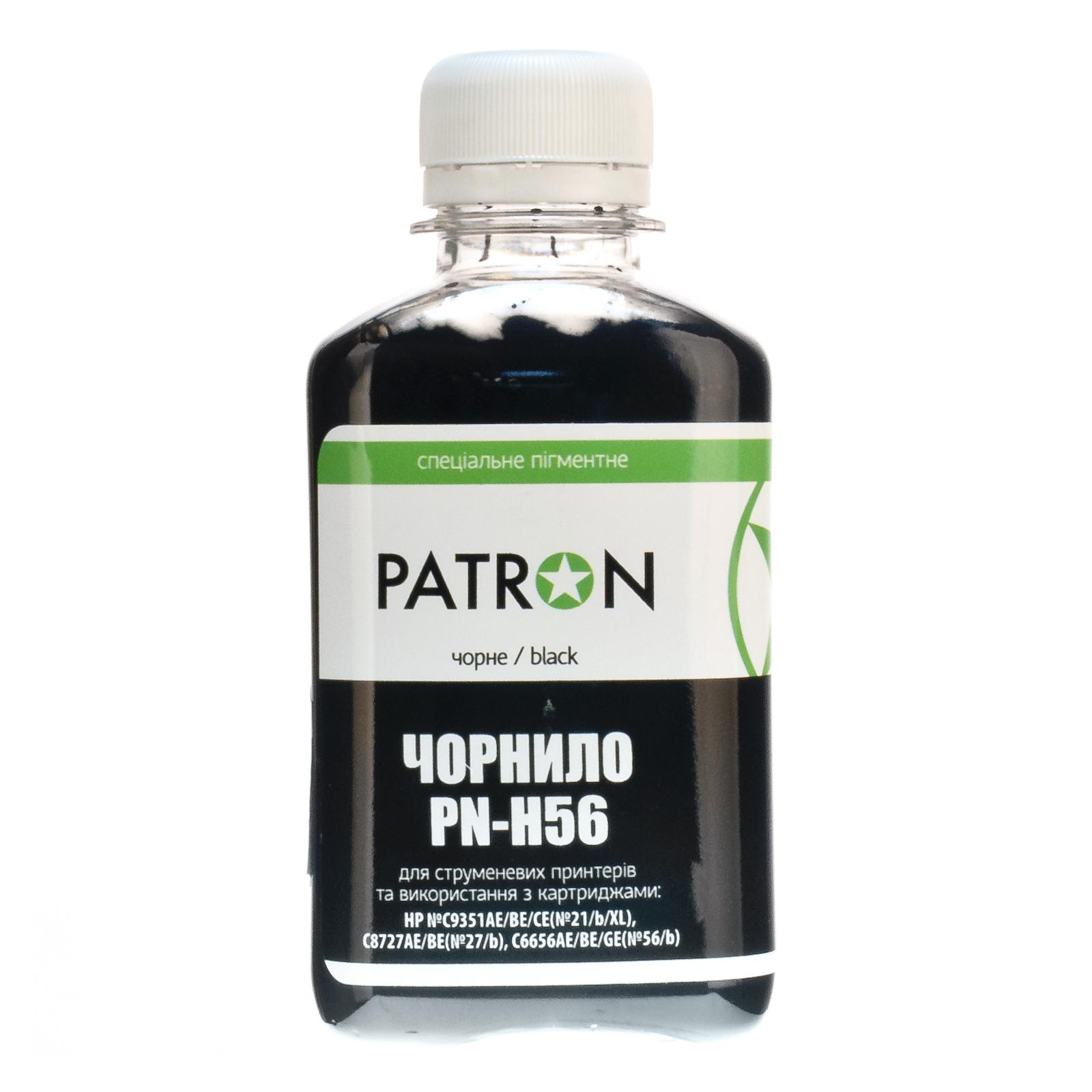 Чернила PATRON HP №56 C6656 BLACK pigment (I-PN-H56-180-B-P) изображение 2