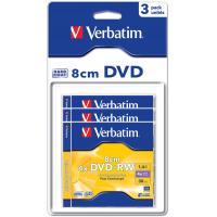 Диск DVD+RW Verbatim mini 1.4Gb 4X Blister 3шт (43594)