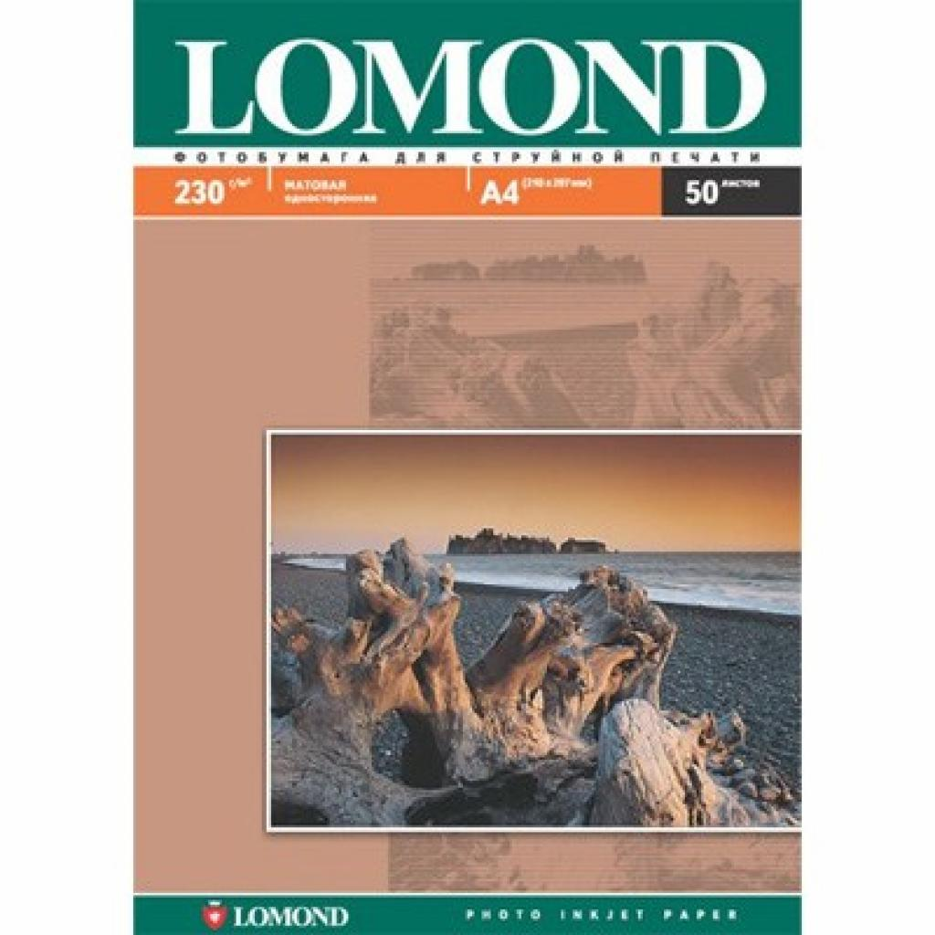 Бумага Lomond A4 Photo Paper Matt 230 (102016)